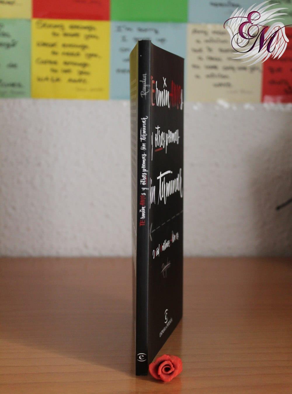 Terminamos y otros poemas sin terminar, de David Martínez Álvarez (Rayden) - Reseña