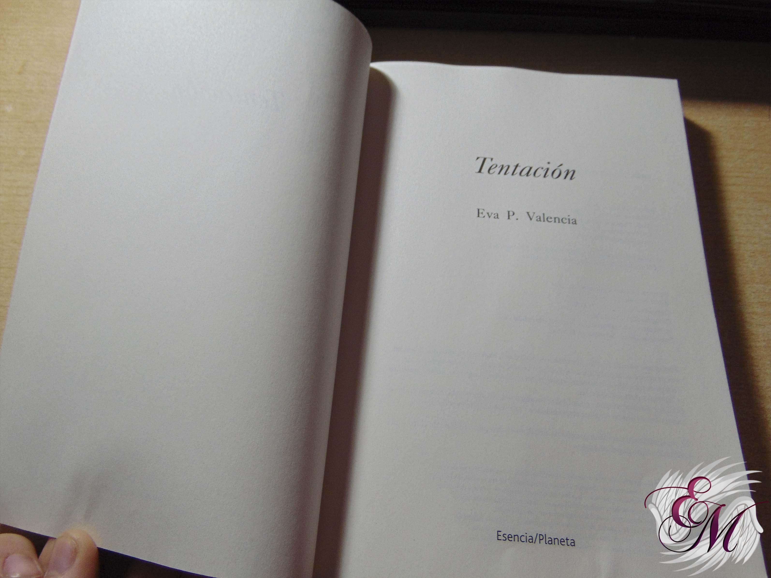 Tentación, de Eva.P Valencia - Reseña