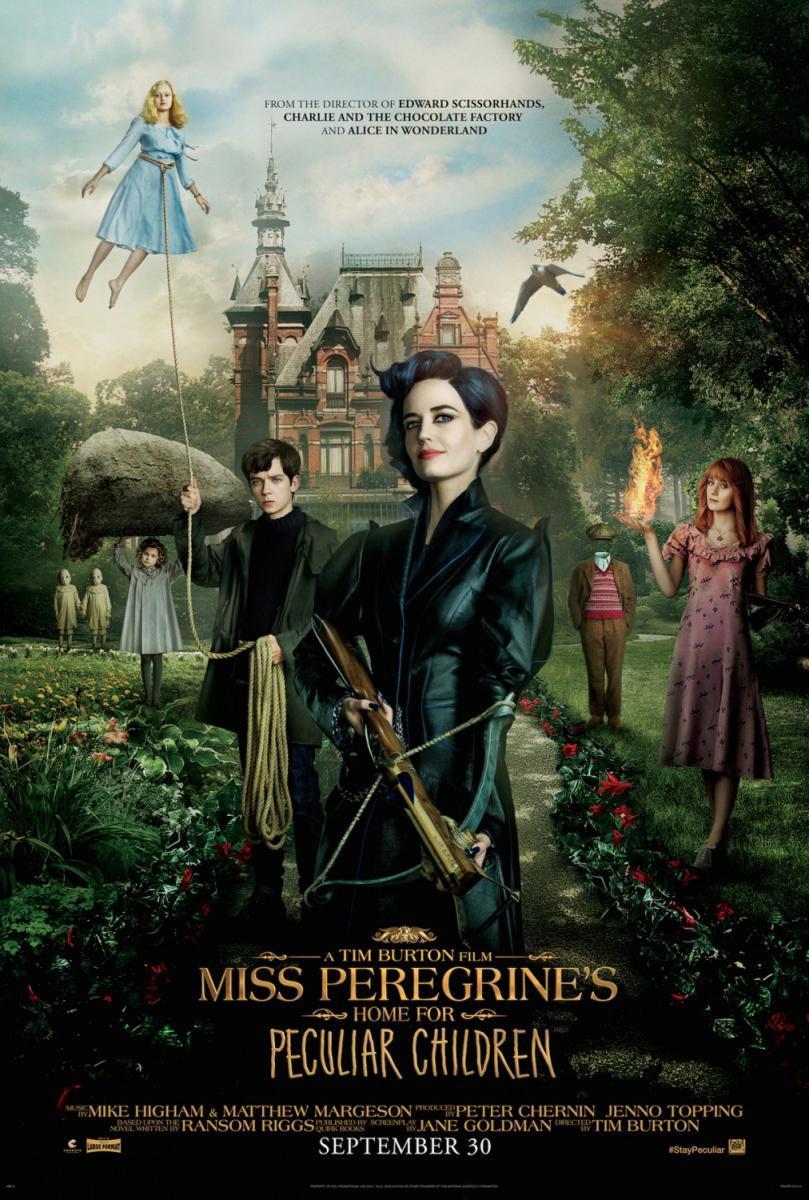 Crítica de cine: El hogar de Miss Peregrine para niños peculiares