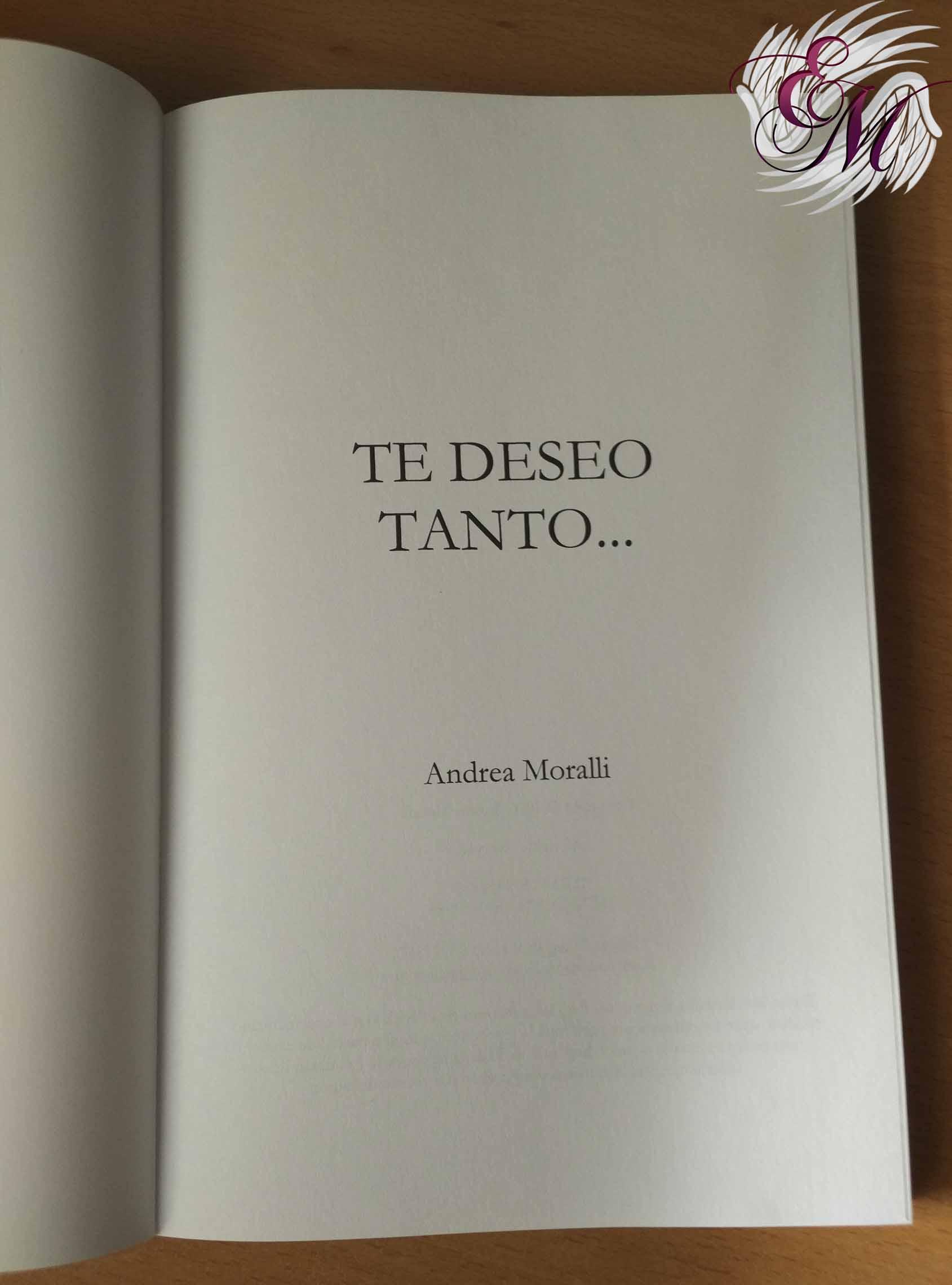 Te deseo tanto, de Andrea Moralli - Reseña