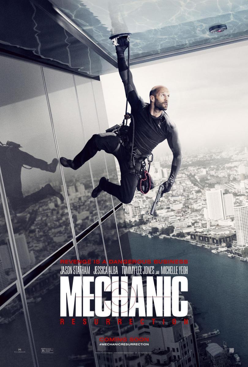Crítica de cine: Mechanic: Resurrection