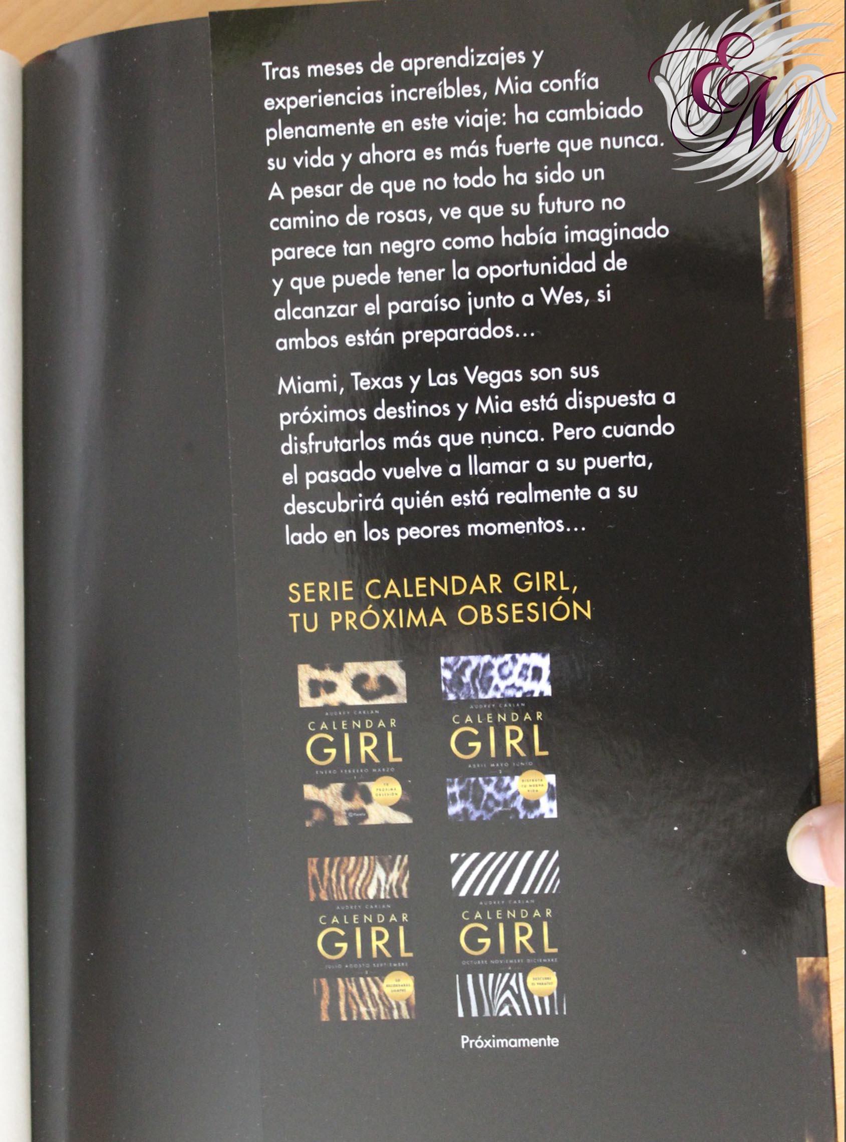Calendar Girl 3 de Audrey Carlan – Reseña