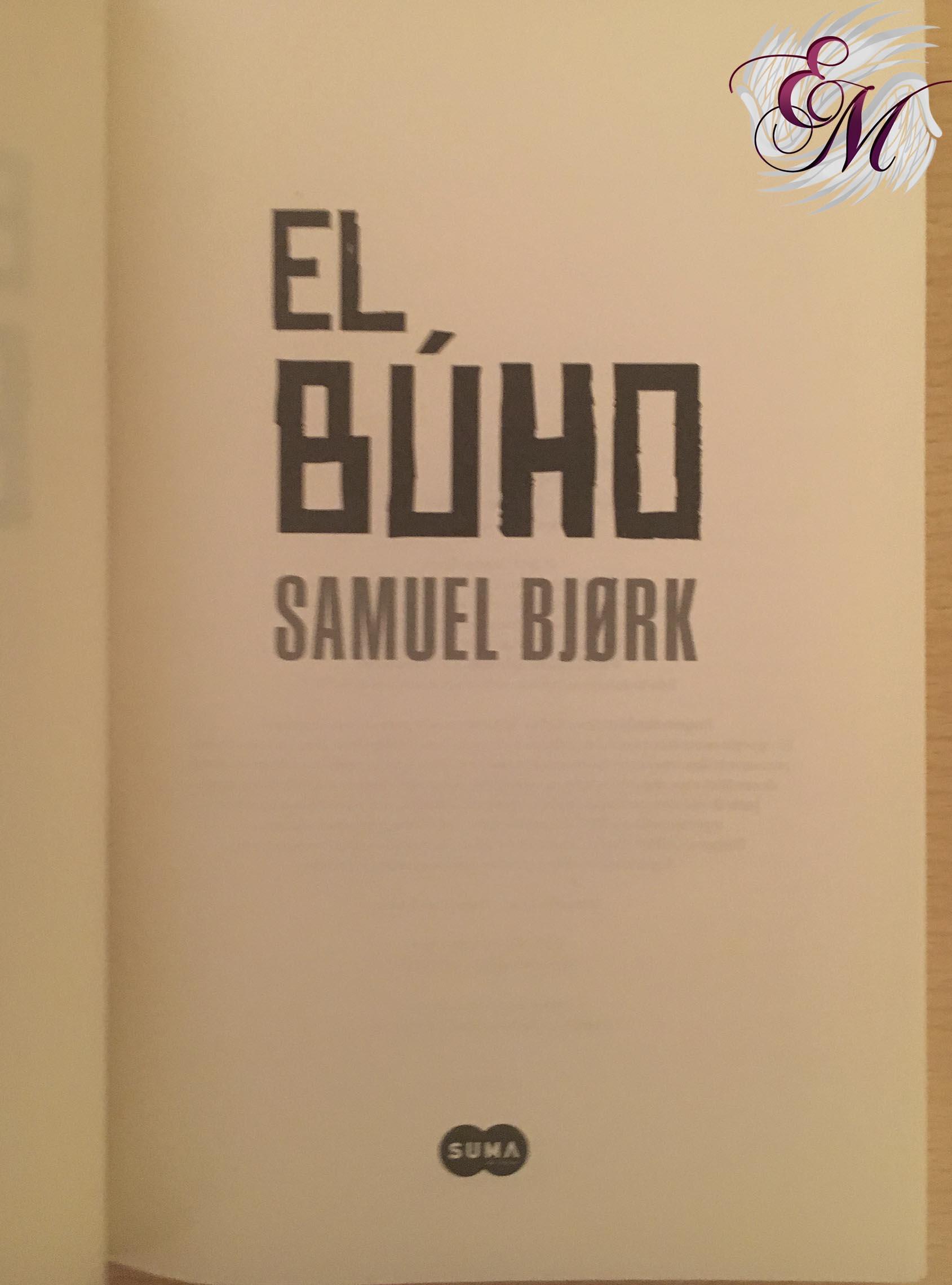 El búho, de Samuel Bjørk - Reseña