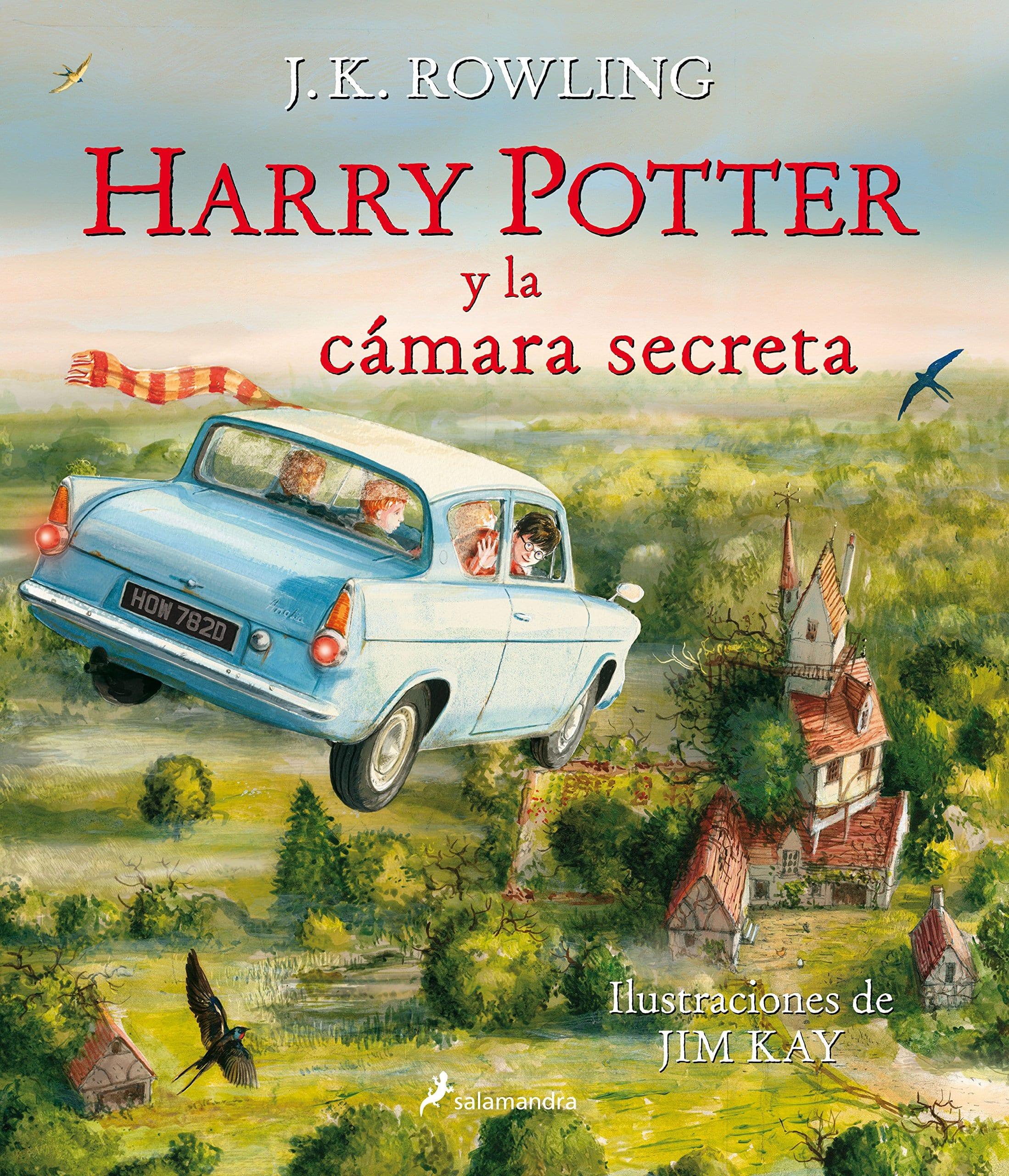 'Harry Potter y la cámara secreta' edición ilustrada. A la venta el 10 de noviembre