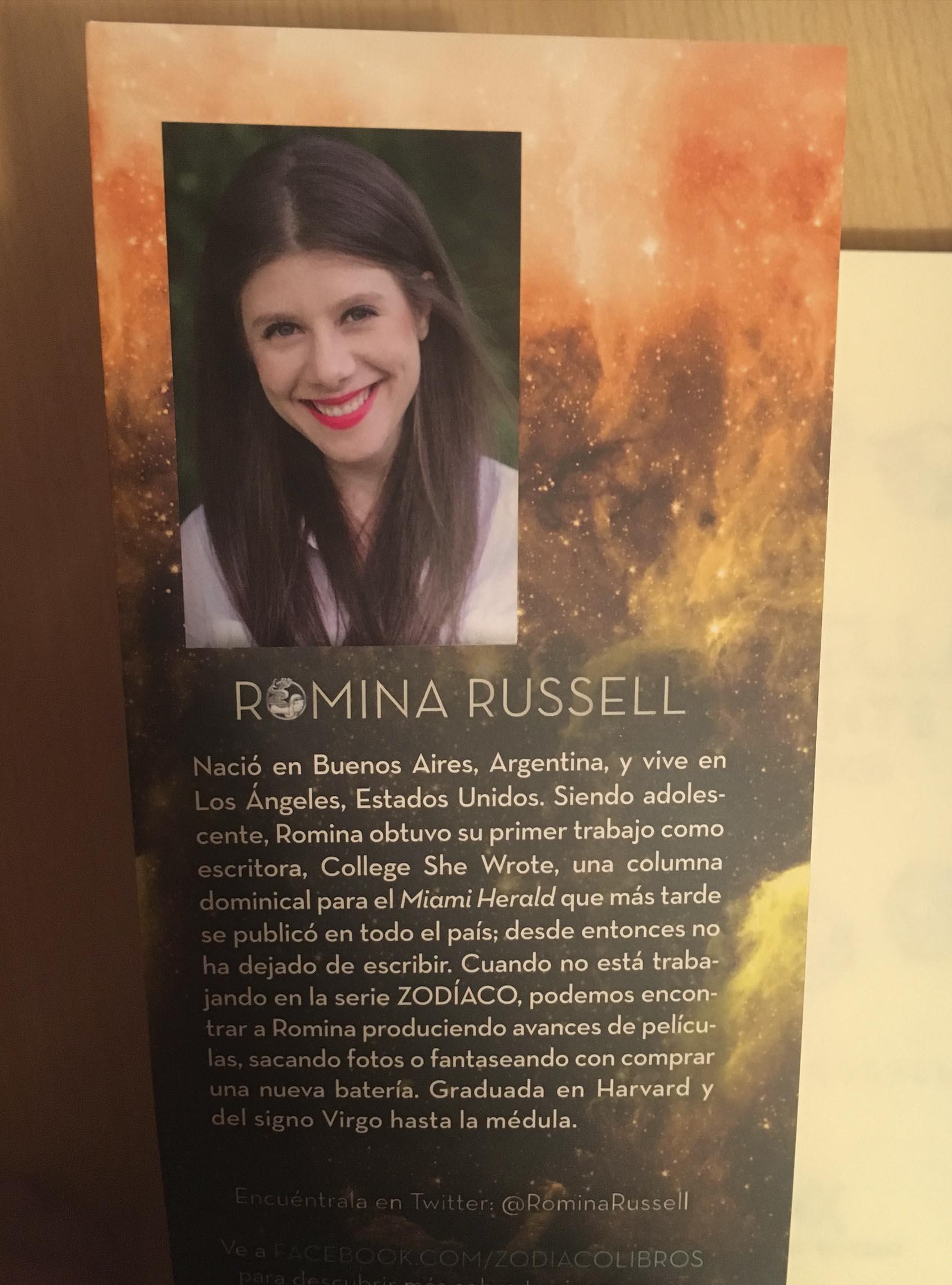 Estrella errante, de Romina Russell - Reseña