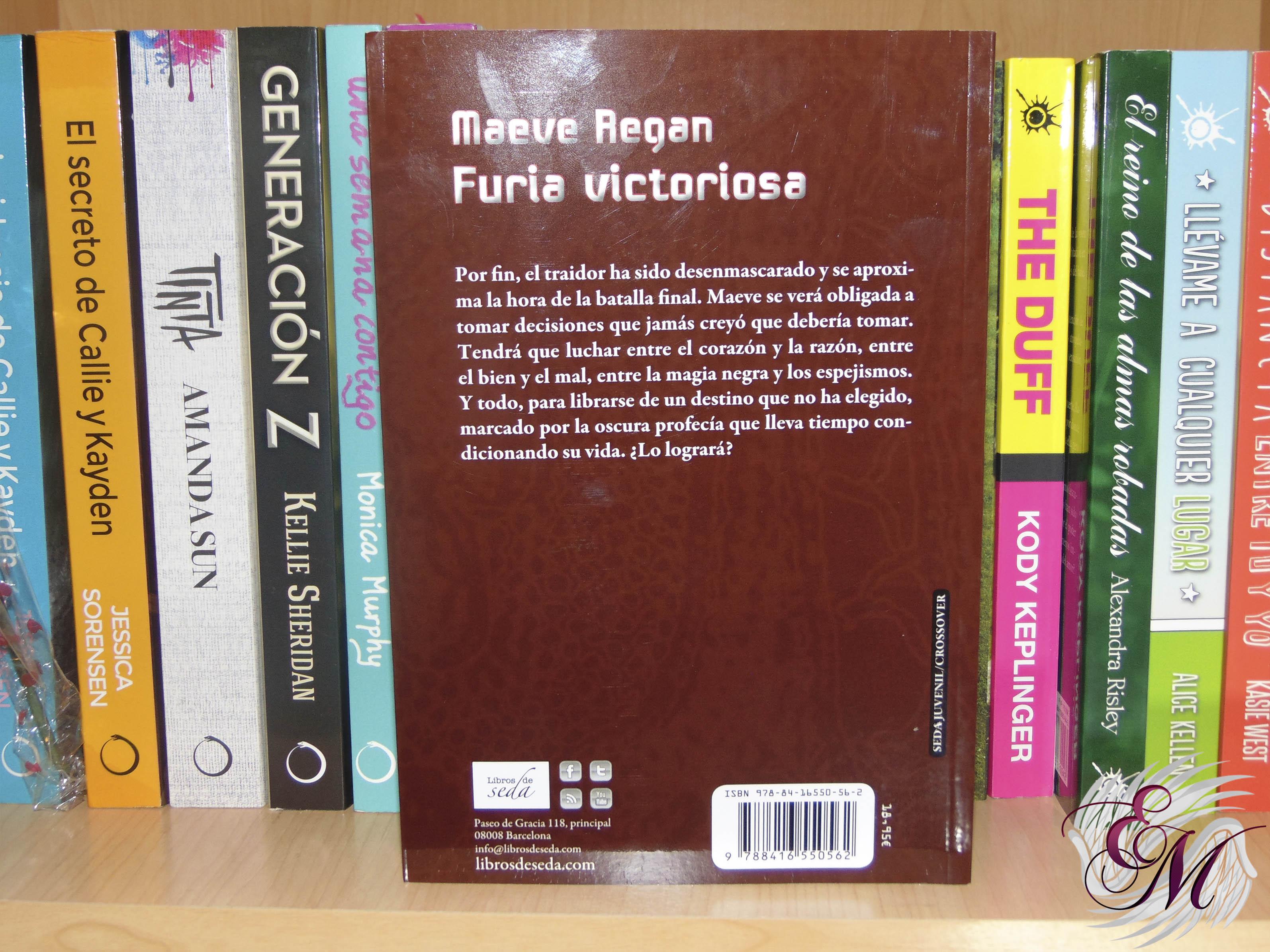 Furia victoriosa, de Marita Gallman - Reseña