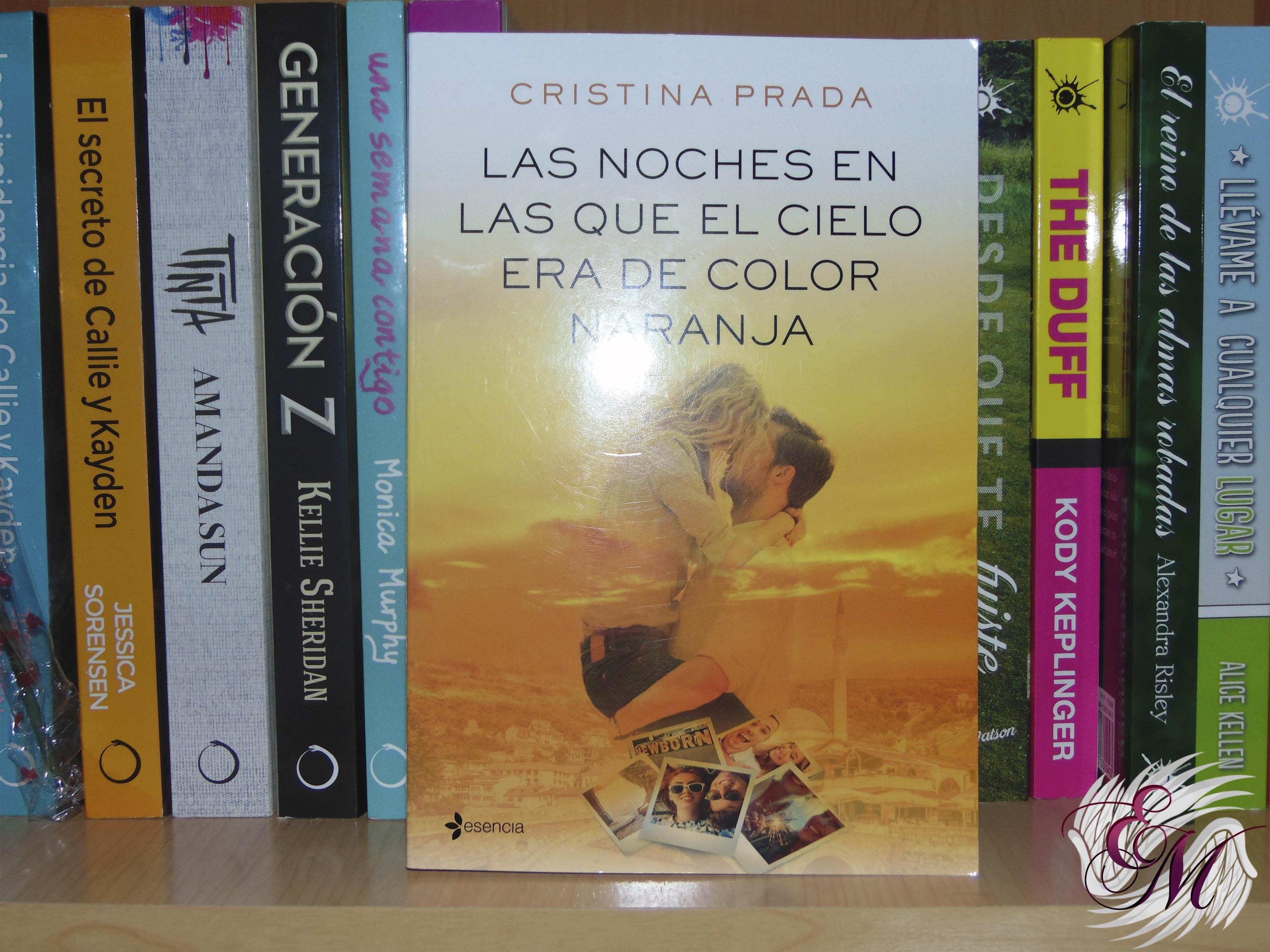 Las noches en las que el cielo era de color naranja, de Cristina Prada - Reseña
