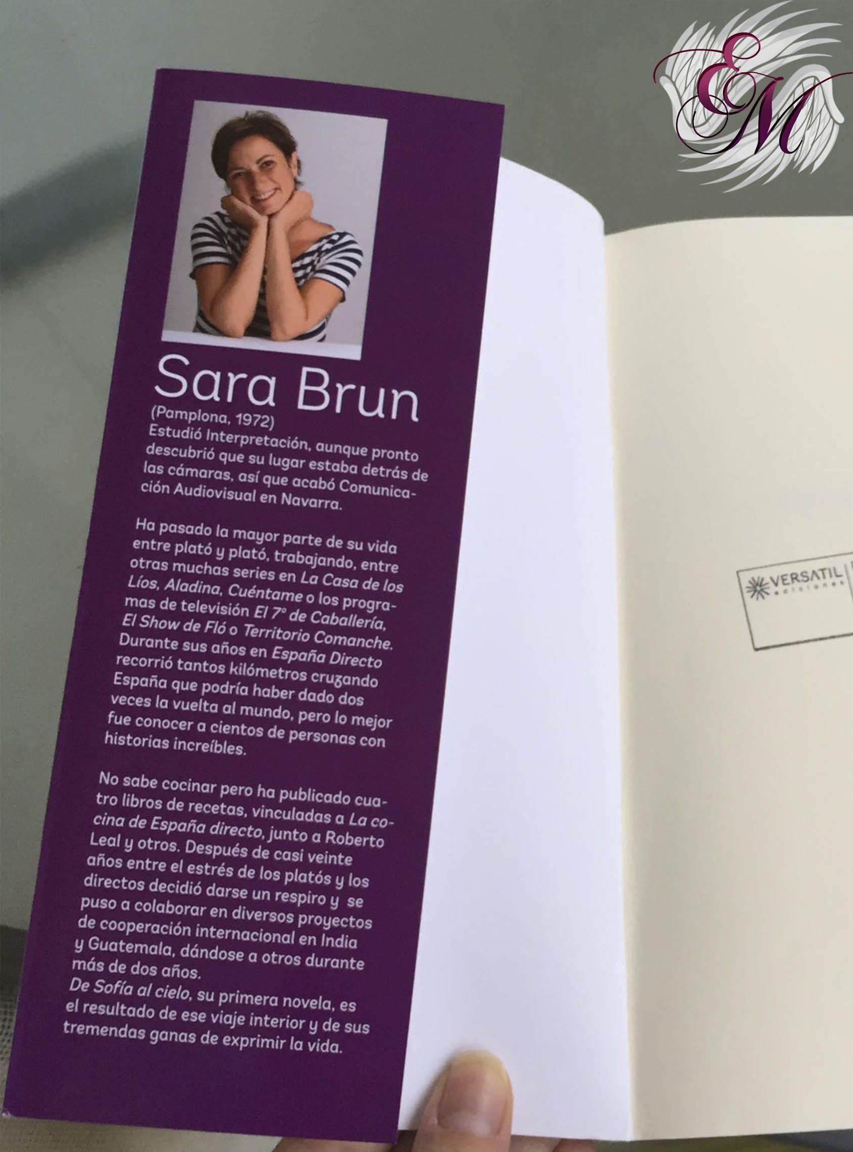 De Sofía al cielo, de Sara Brun - Reseña