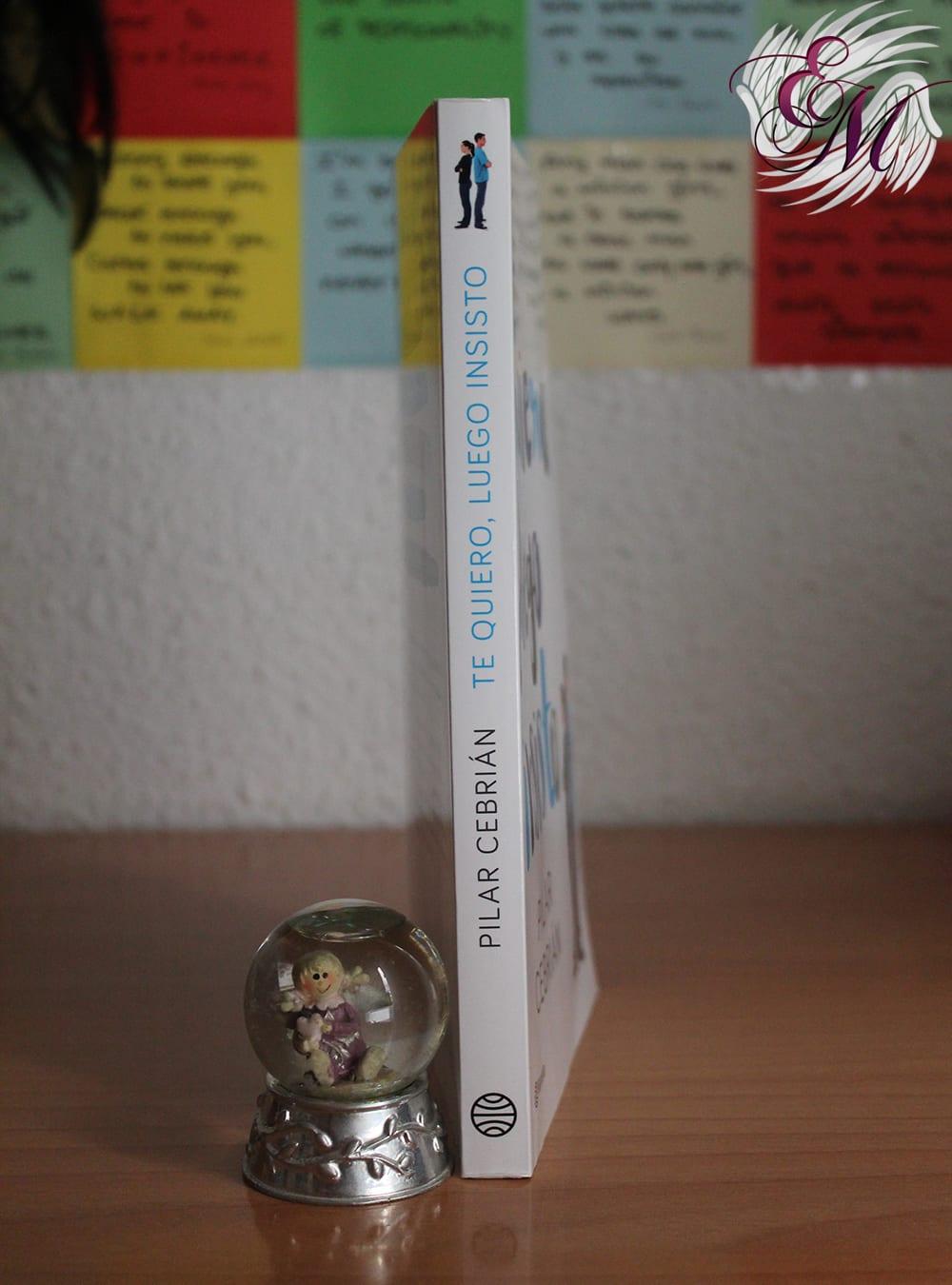 Te quiero, luego insisto, de Pilar Cebrián - Reseña