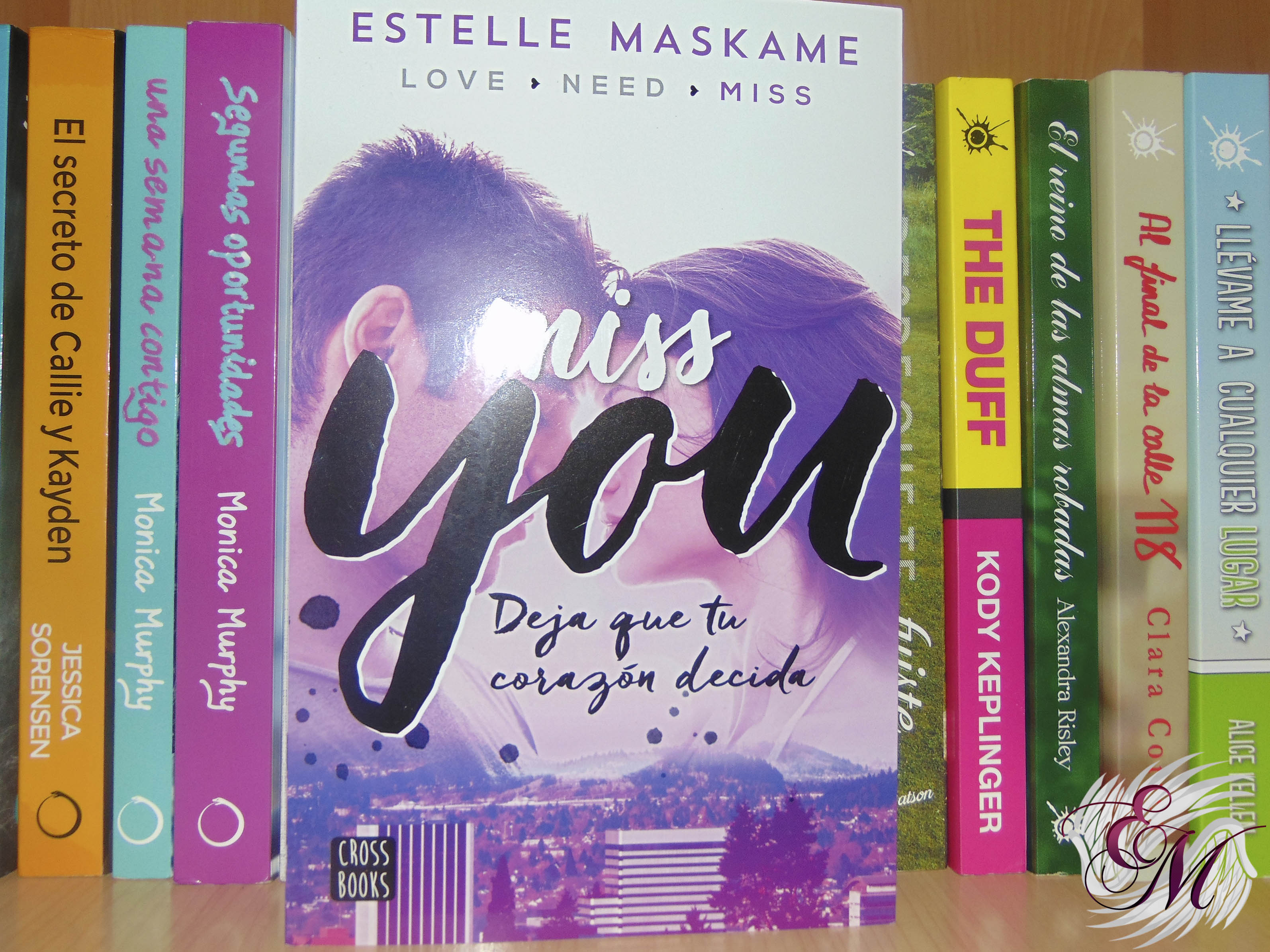 Miss you, de Estelle Maskame - Reseña
