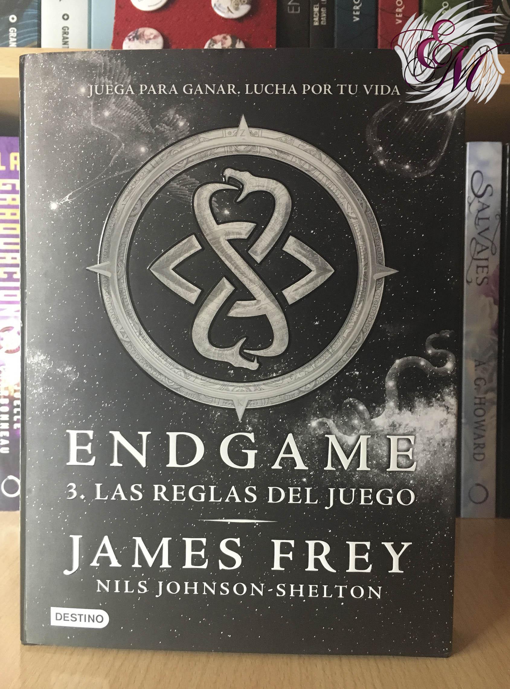 Endgame 3: Las reglas del juego, de James Frey - Reseña