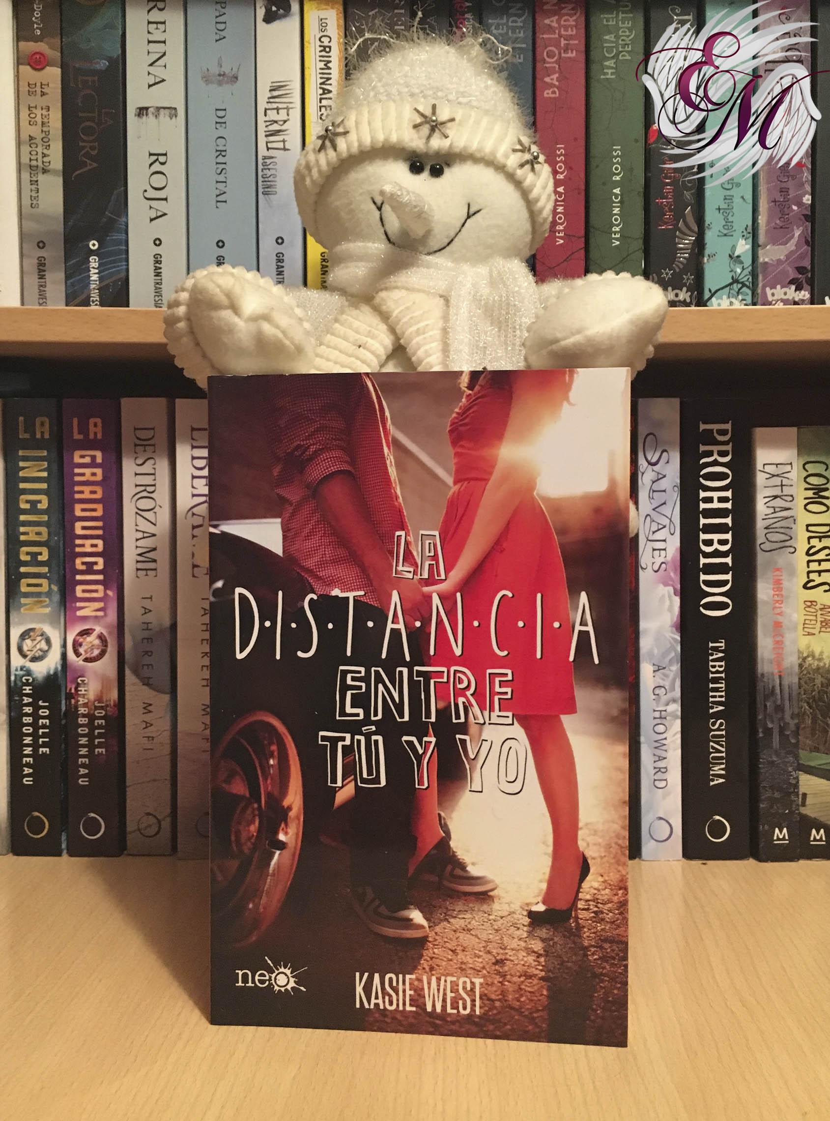 La distancia entre tú y yo, de Kasie West - Reseña