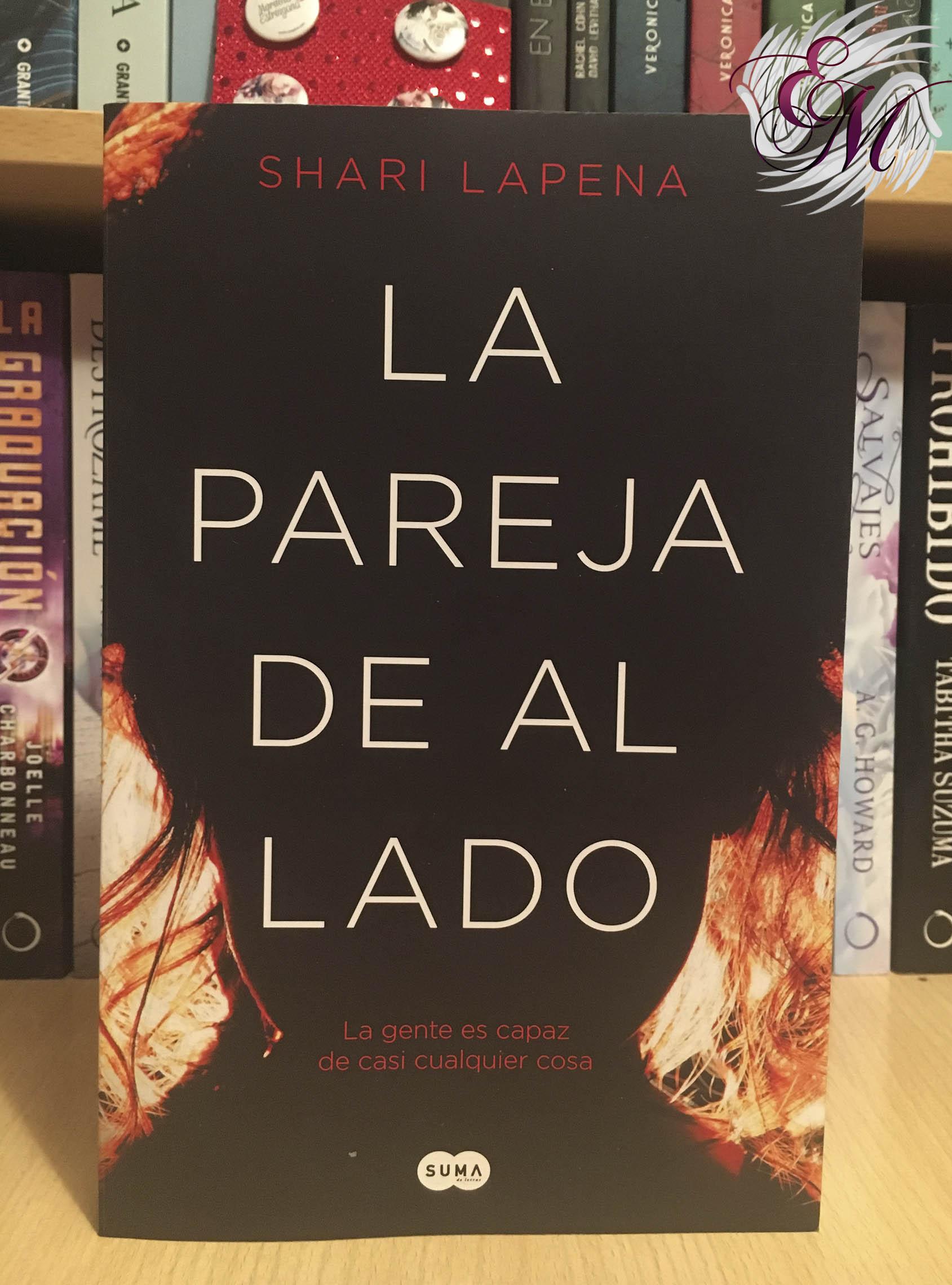 La pareja de al lado, de Shari Lapena - Reseña