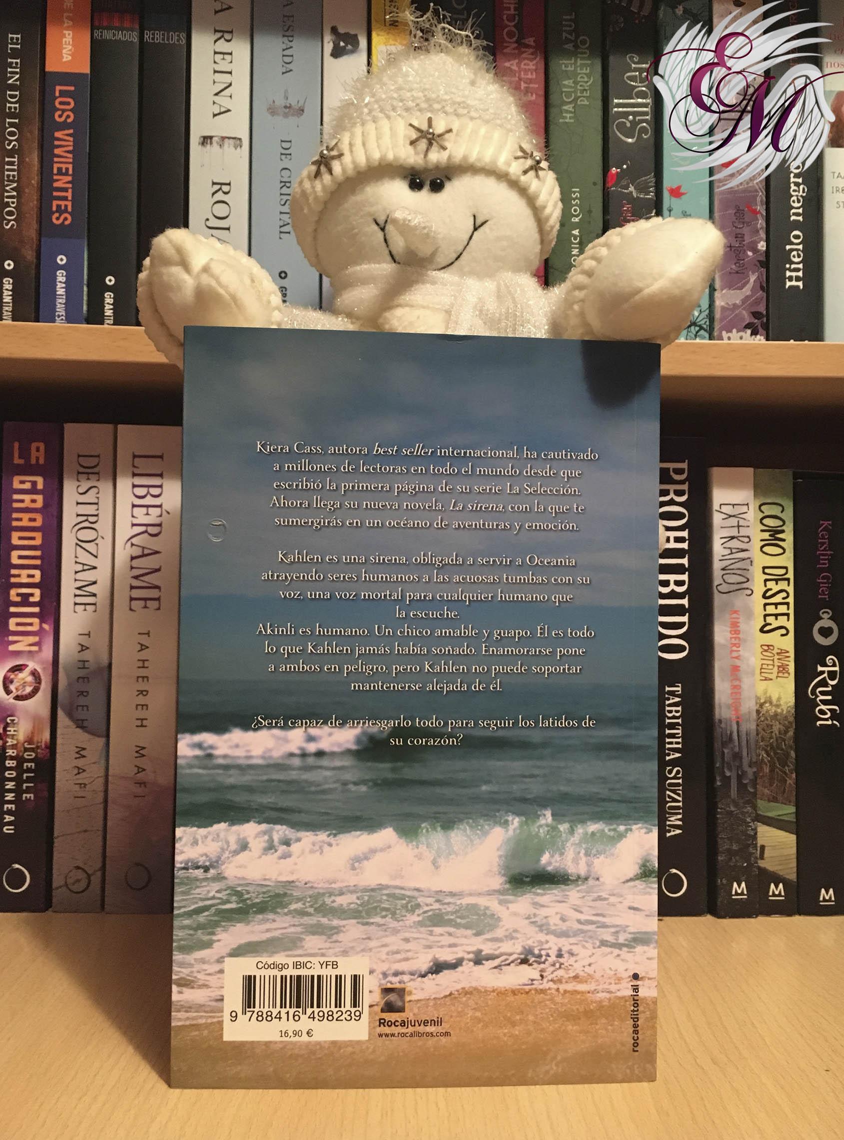 La Sirena, de Kiera Cass - Reseña