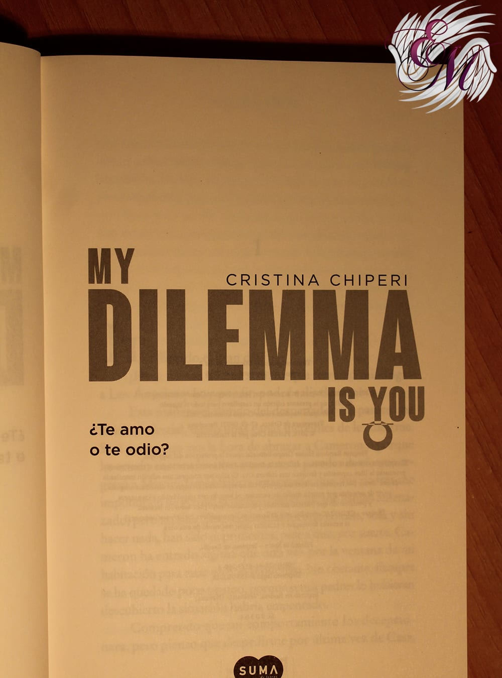 My Dilemma Is You #2: ¿Te amo o te odio?, de Cristina Chiperi – Reseña