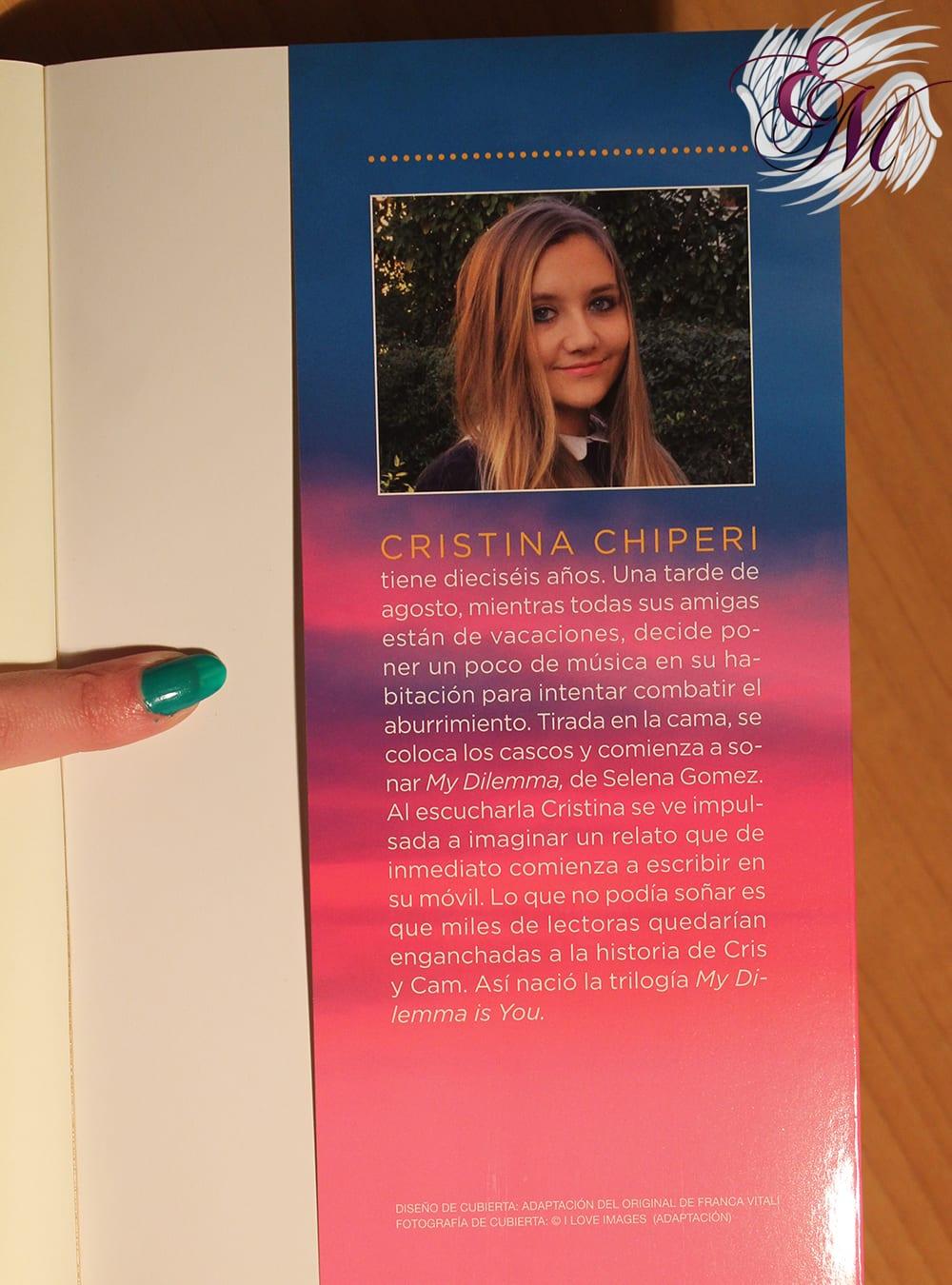 My Dilemma Is You #2: ¿Te amo o te odio?, de Cristina Chiperi – Reseña