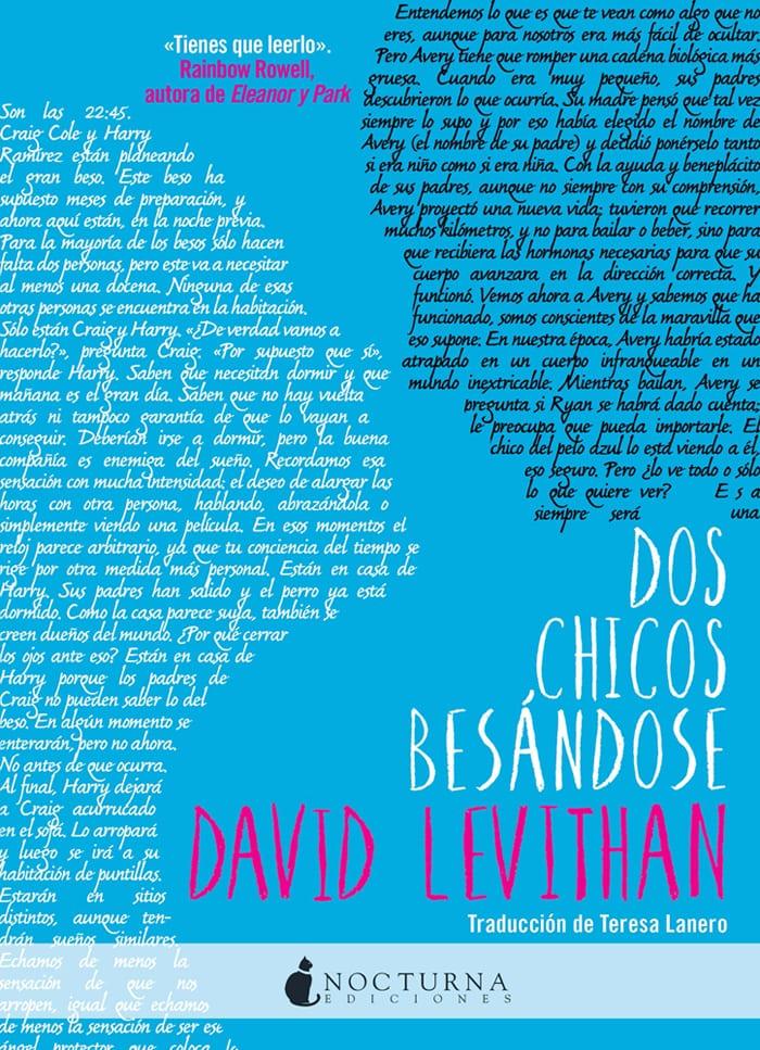 Dos chicos besándose, de David Levithan