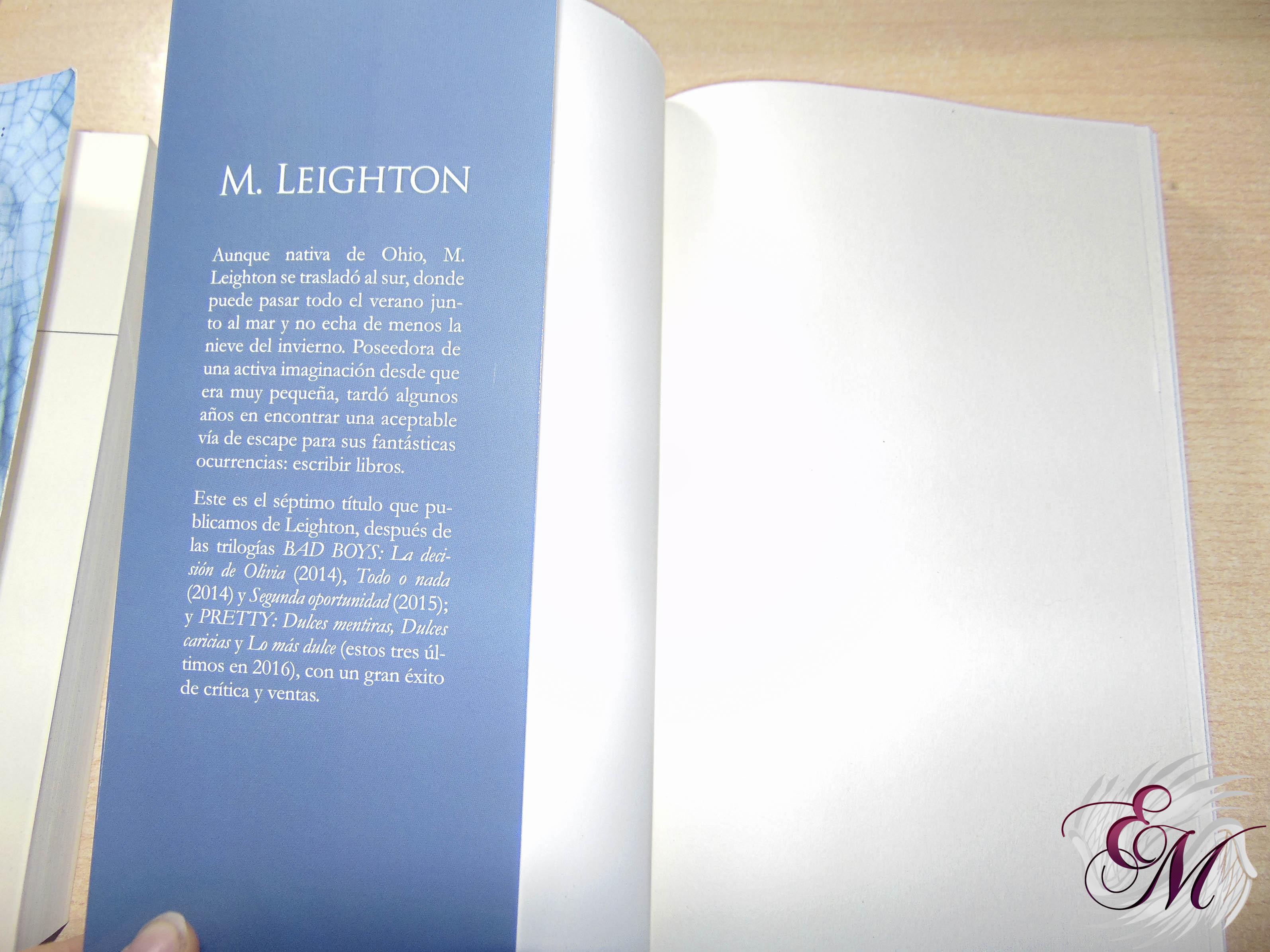 Amor indómito, de M.Leighton - Reseña