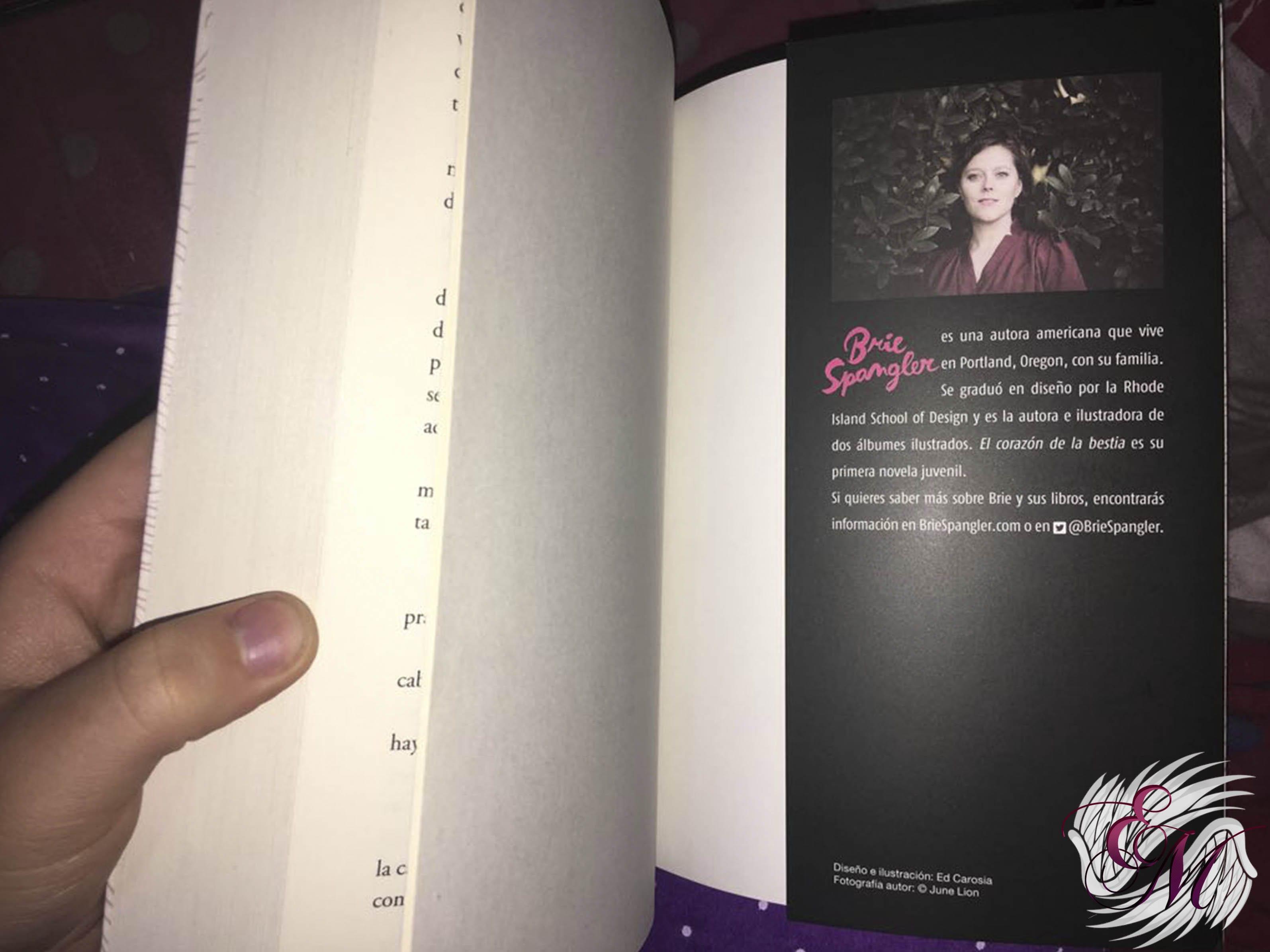 El corazón de la Bestia, de Brie Spangler - Reseña