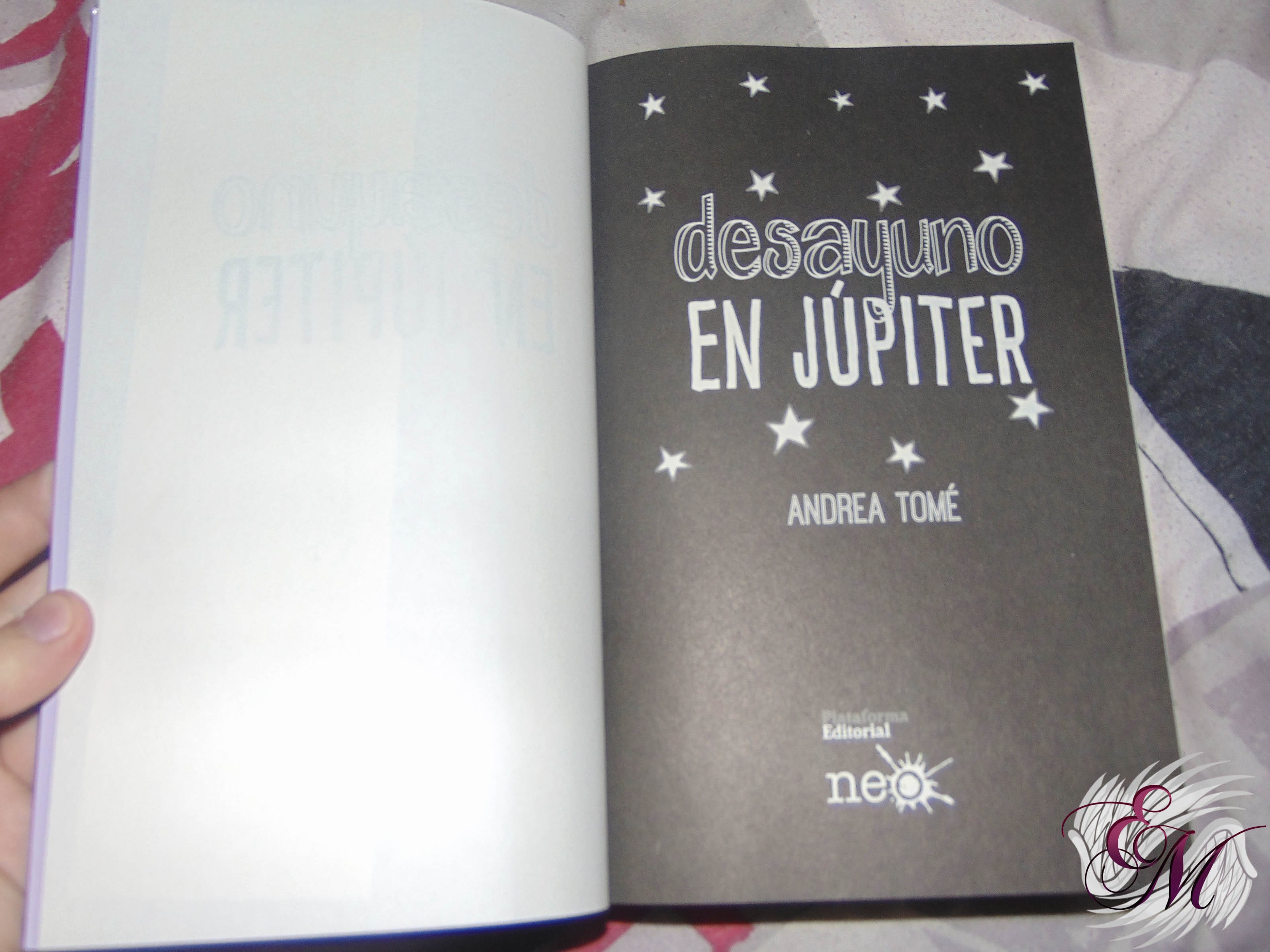 Desayuno en Júpiter, de Andrea Tomé - Reseña