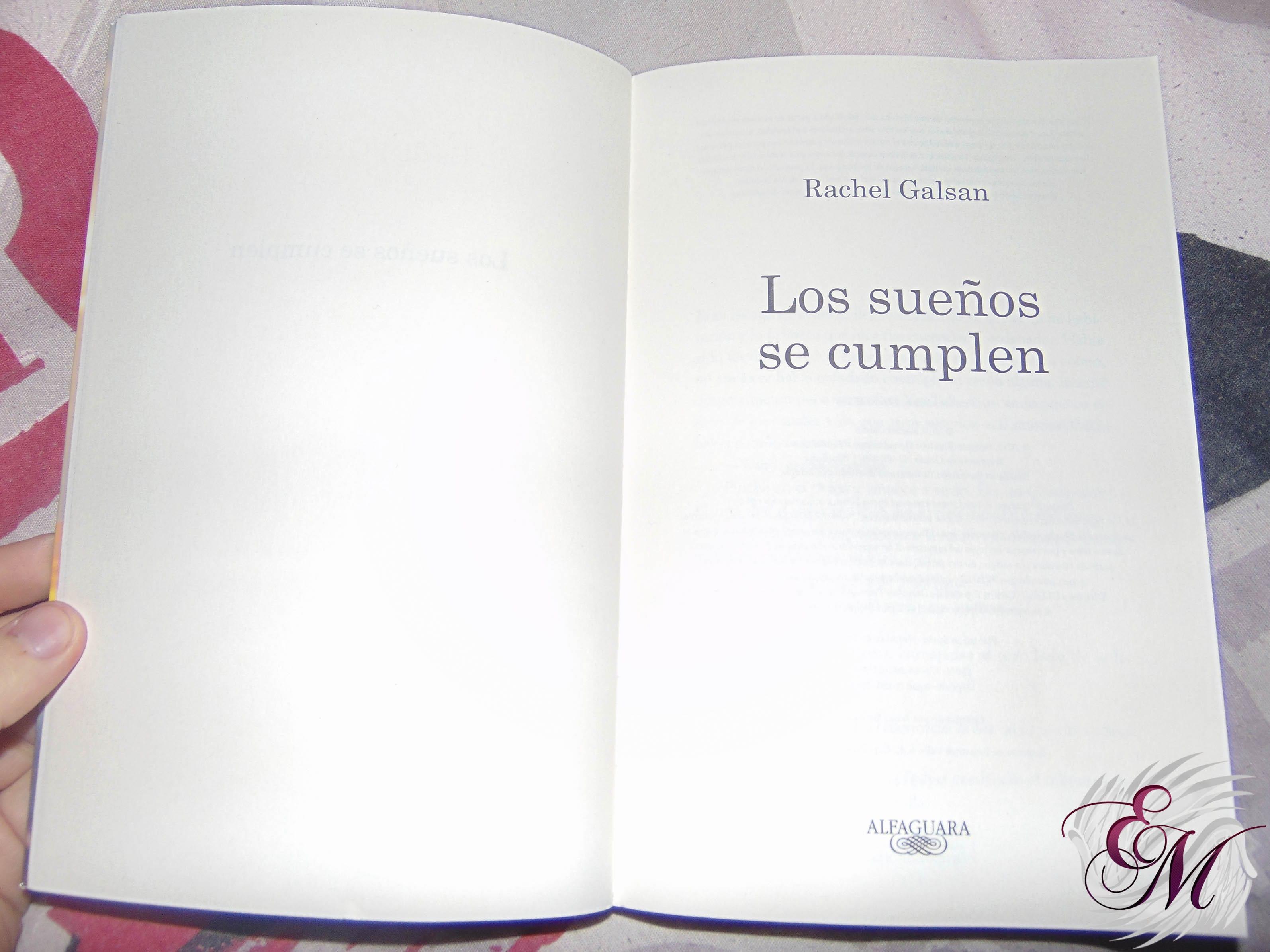 Los sueños se cumplen, de Rachel Galsan - Reseña