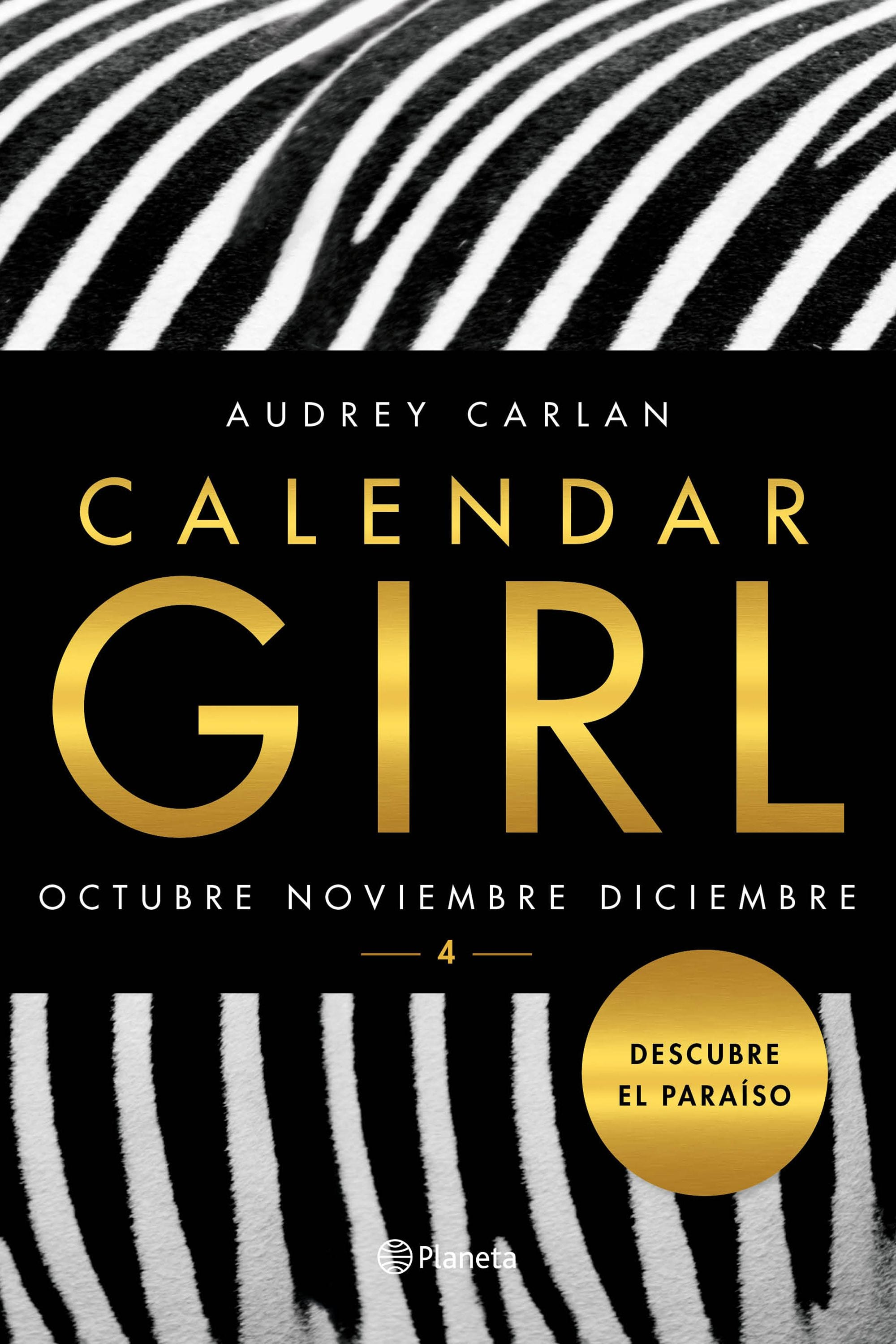 Calendar Girl 4: Octubre, Noviembre y Diciembre, de Audrey Carlan - Reseña