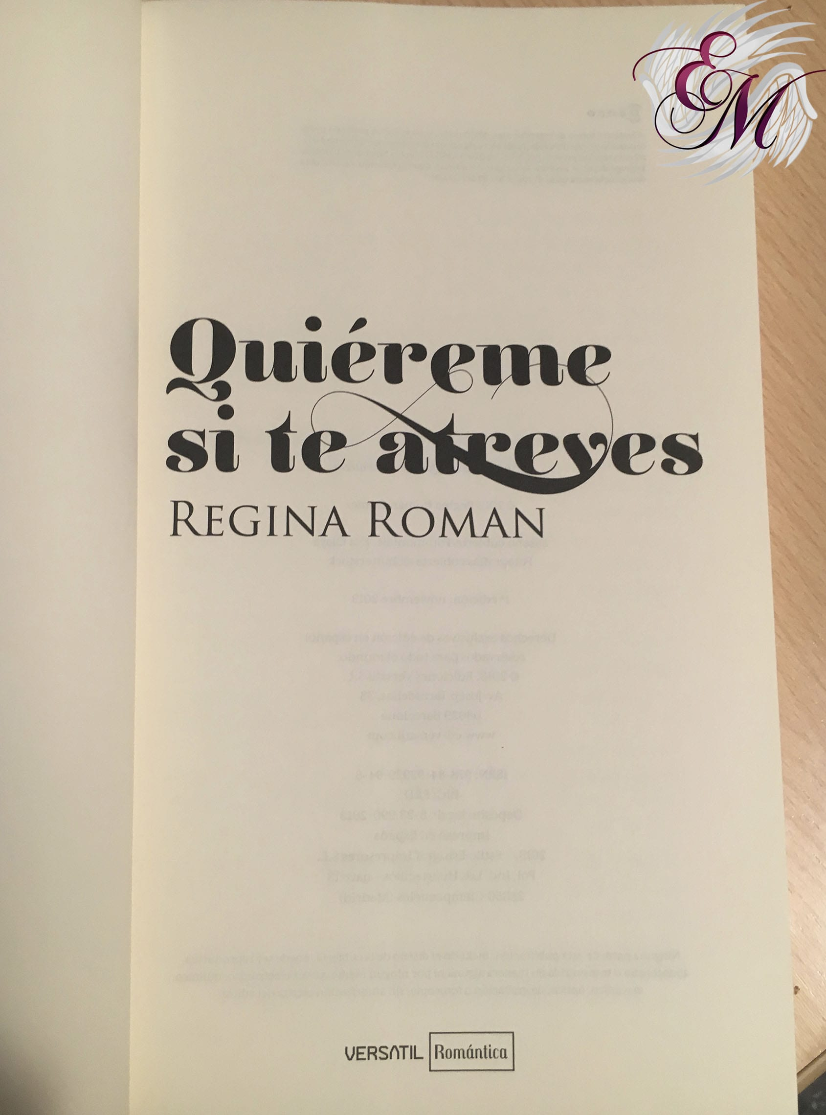 Quiéreme si te atreves, de Regina Román - Reseña