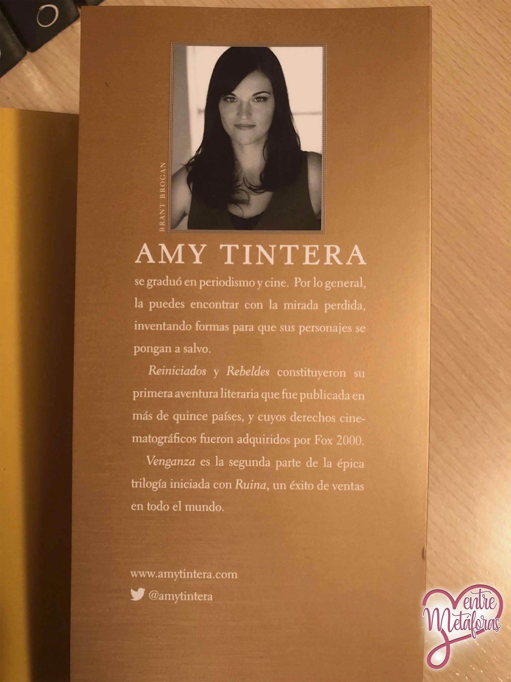 Venganza, de Amy Tintera - Reseña