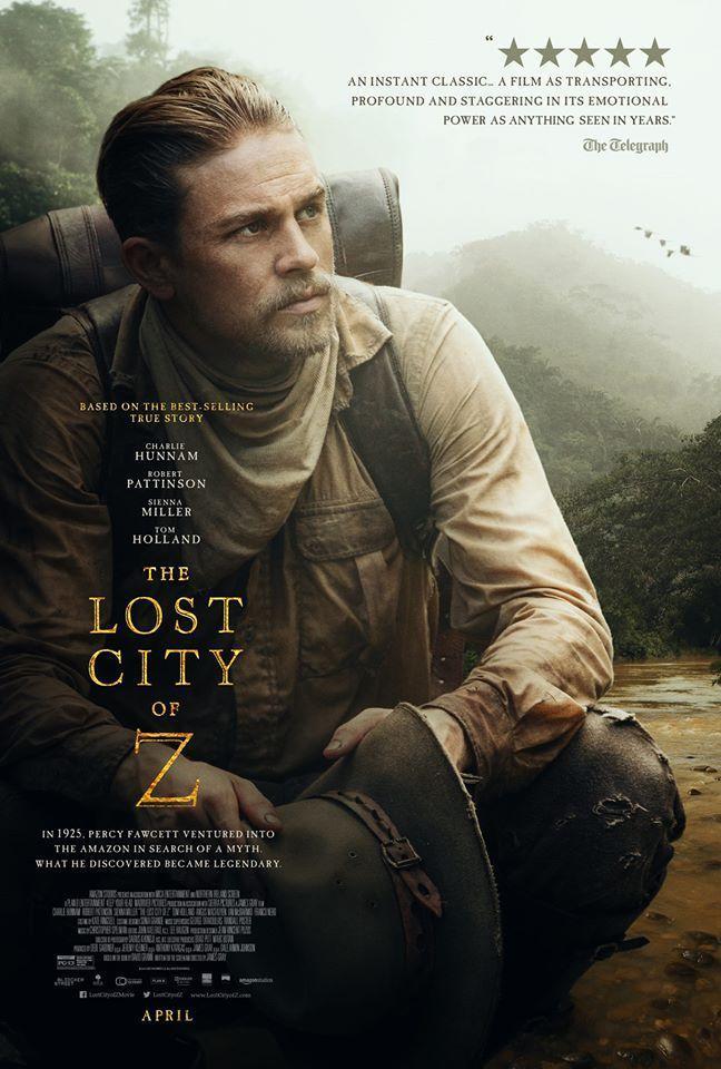Crítica de cine: Z. La ciudad perdida