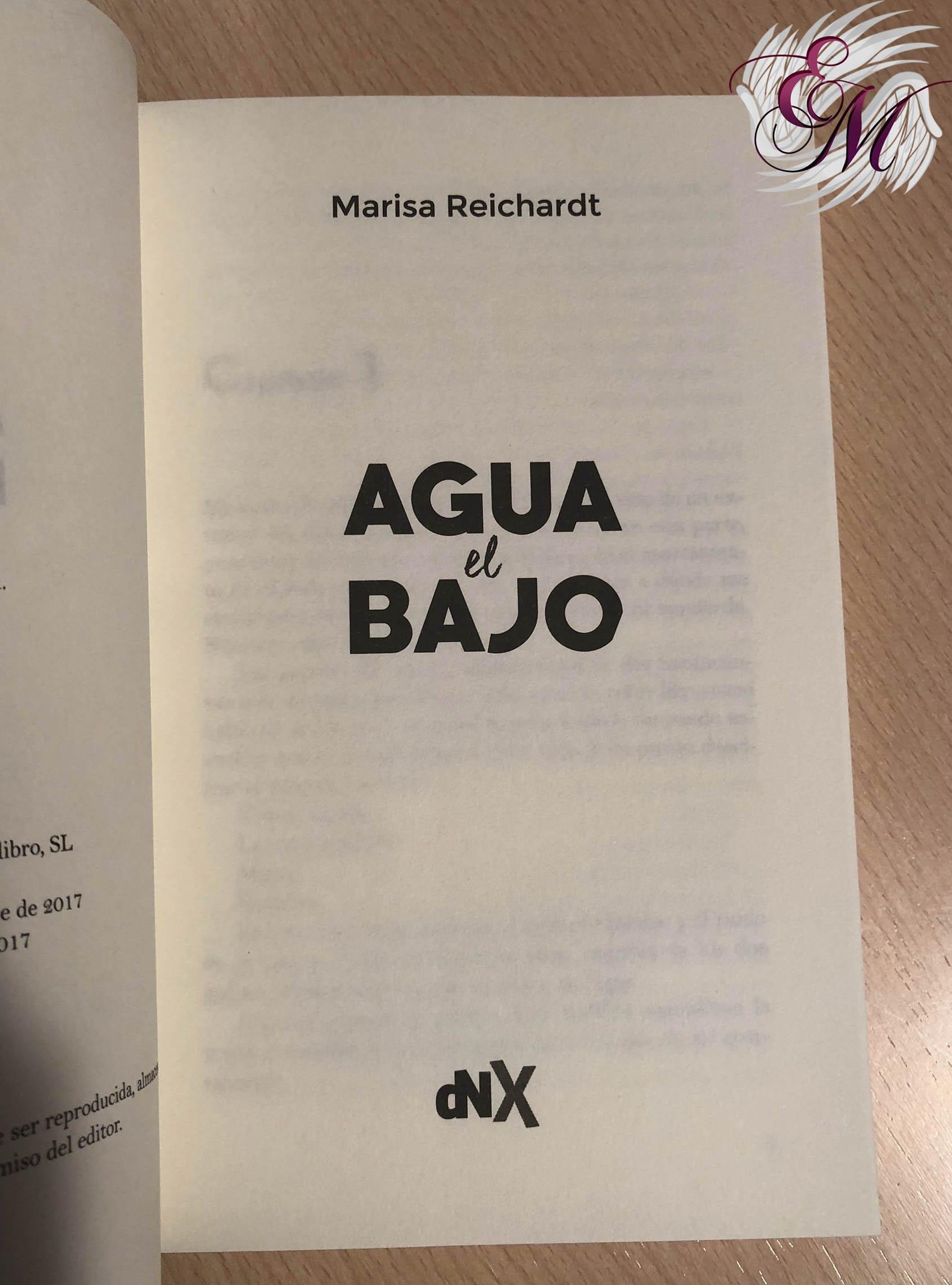 Bajo el agua, de Marisa Reichardt - Reseña