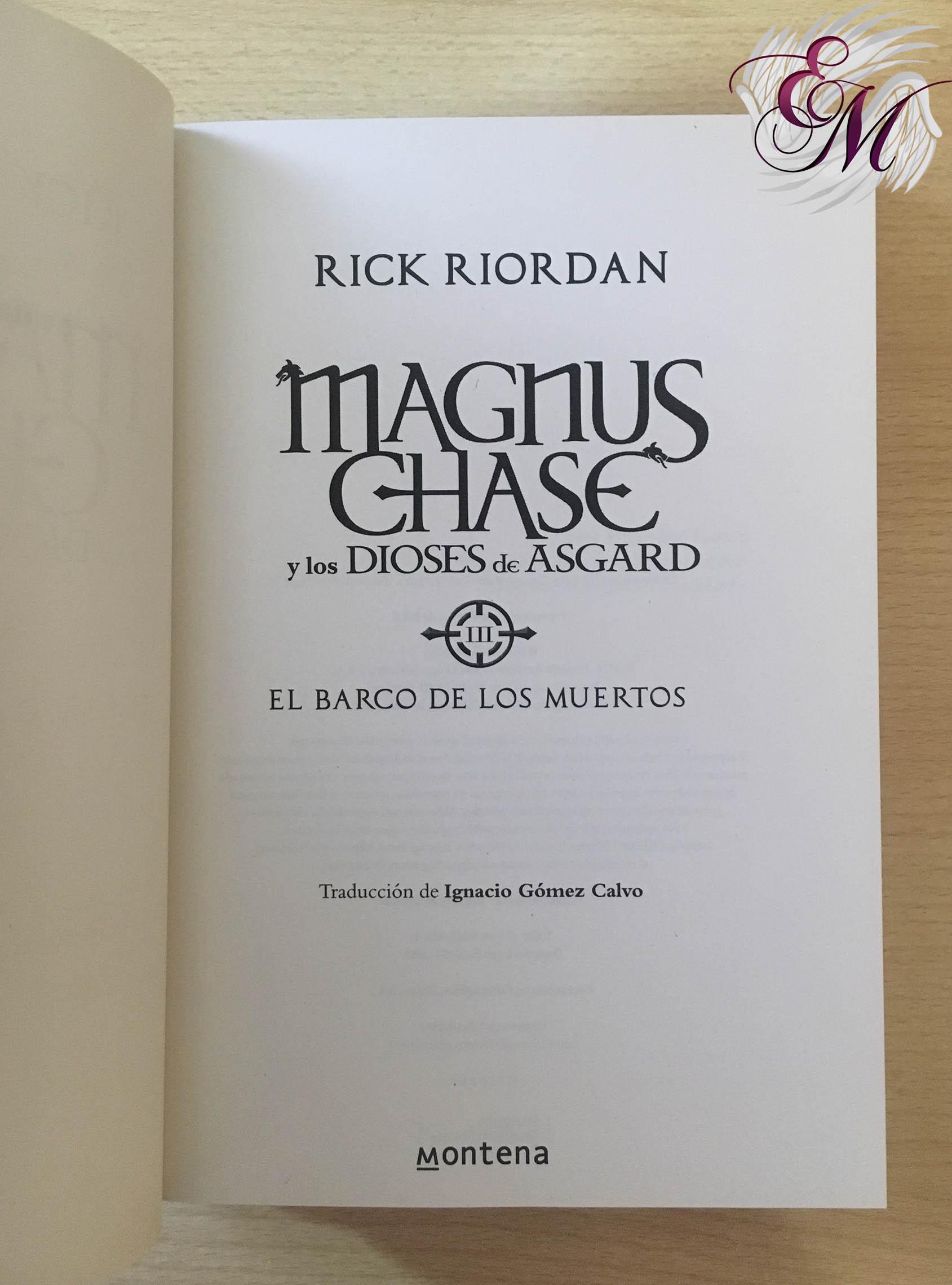 El barco de los muertos, de Rick Riordan - Reseña