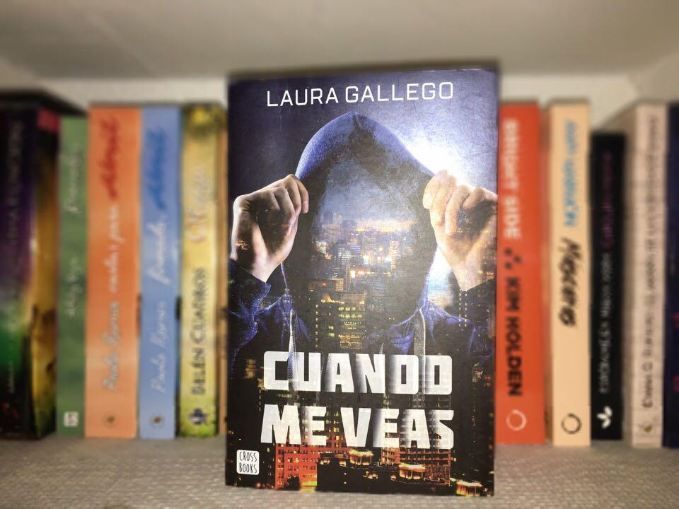 Cuando me veas, de Laura Gallego - Reseña
