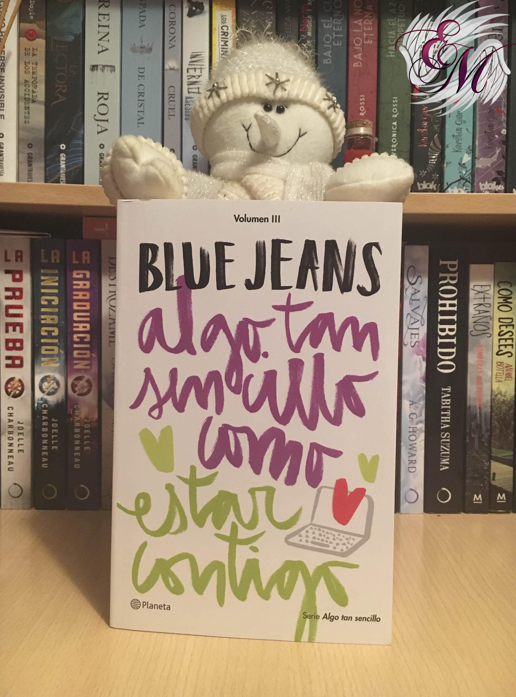 Algo tan sencillo como estar contigo, de Blue Jeans - Reseña