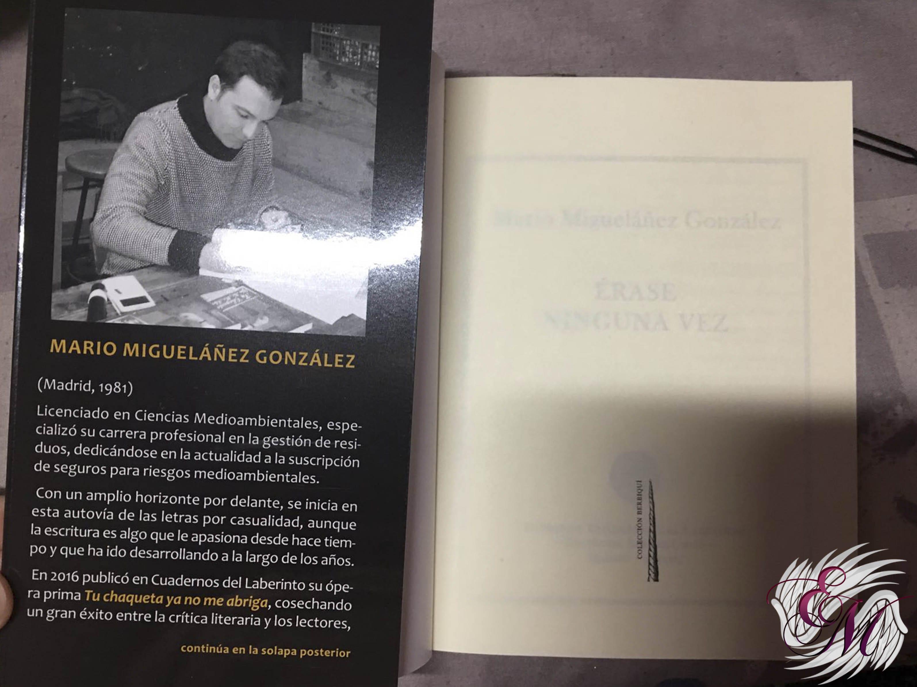 Érase ninguna vez, de Mario Migueláñez González - Reseña