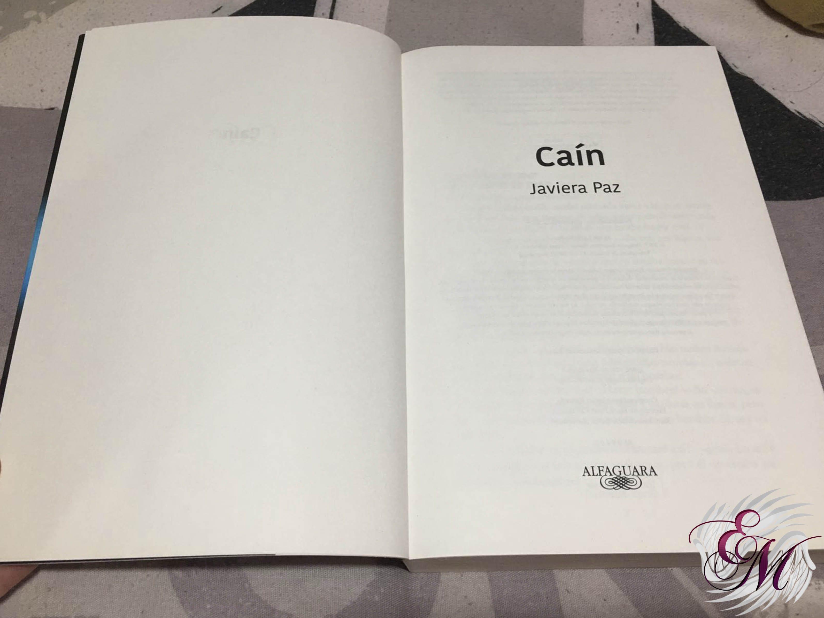 Caín, de Javiera Paz - Reseña
