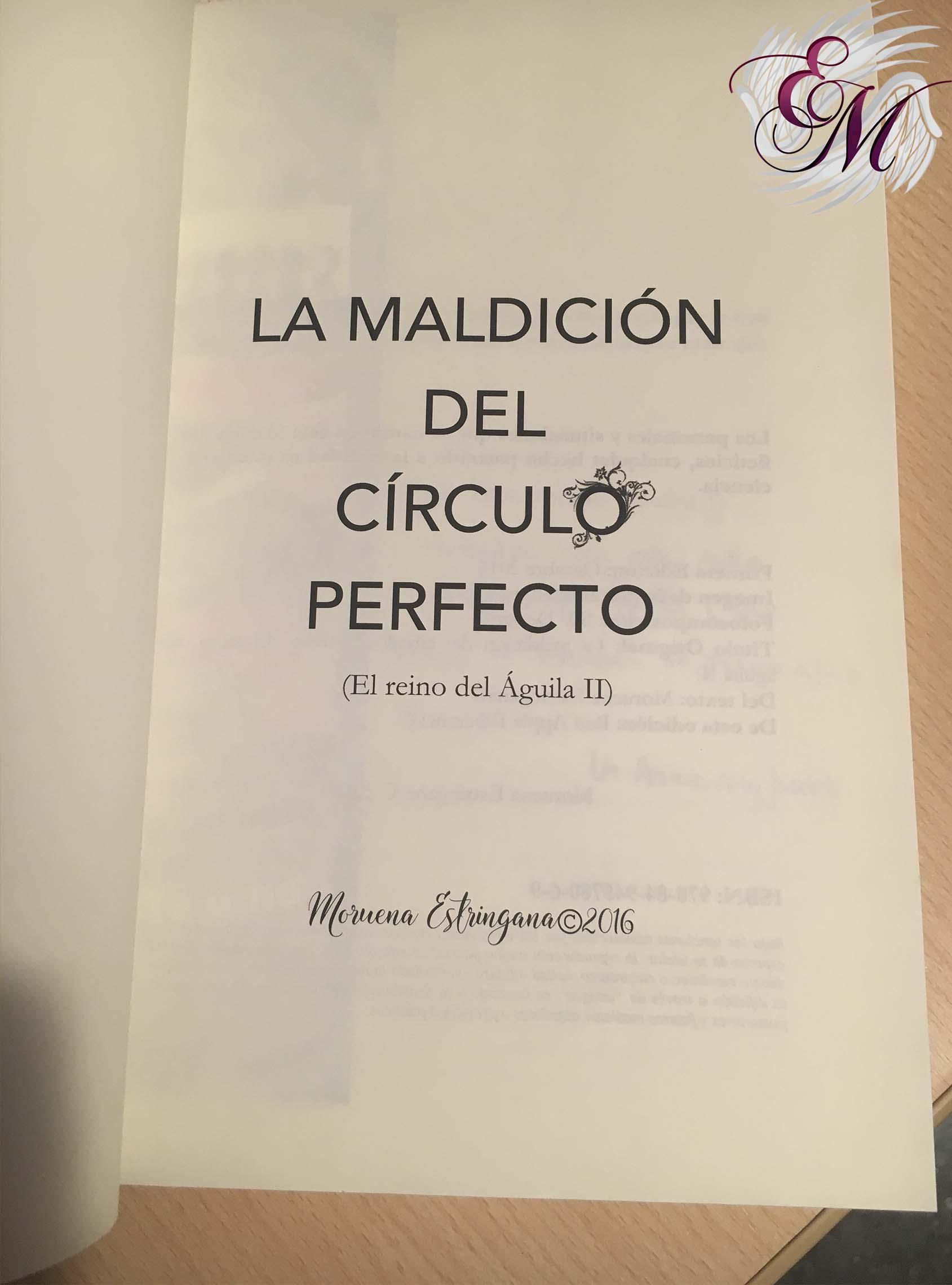 La maldición del círculo perfecto, de Moruena Estríngana - Reseña