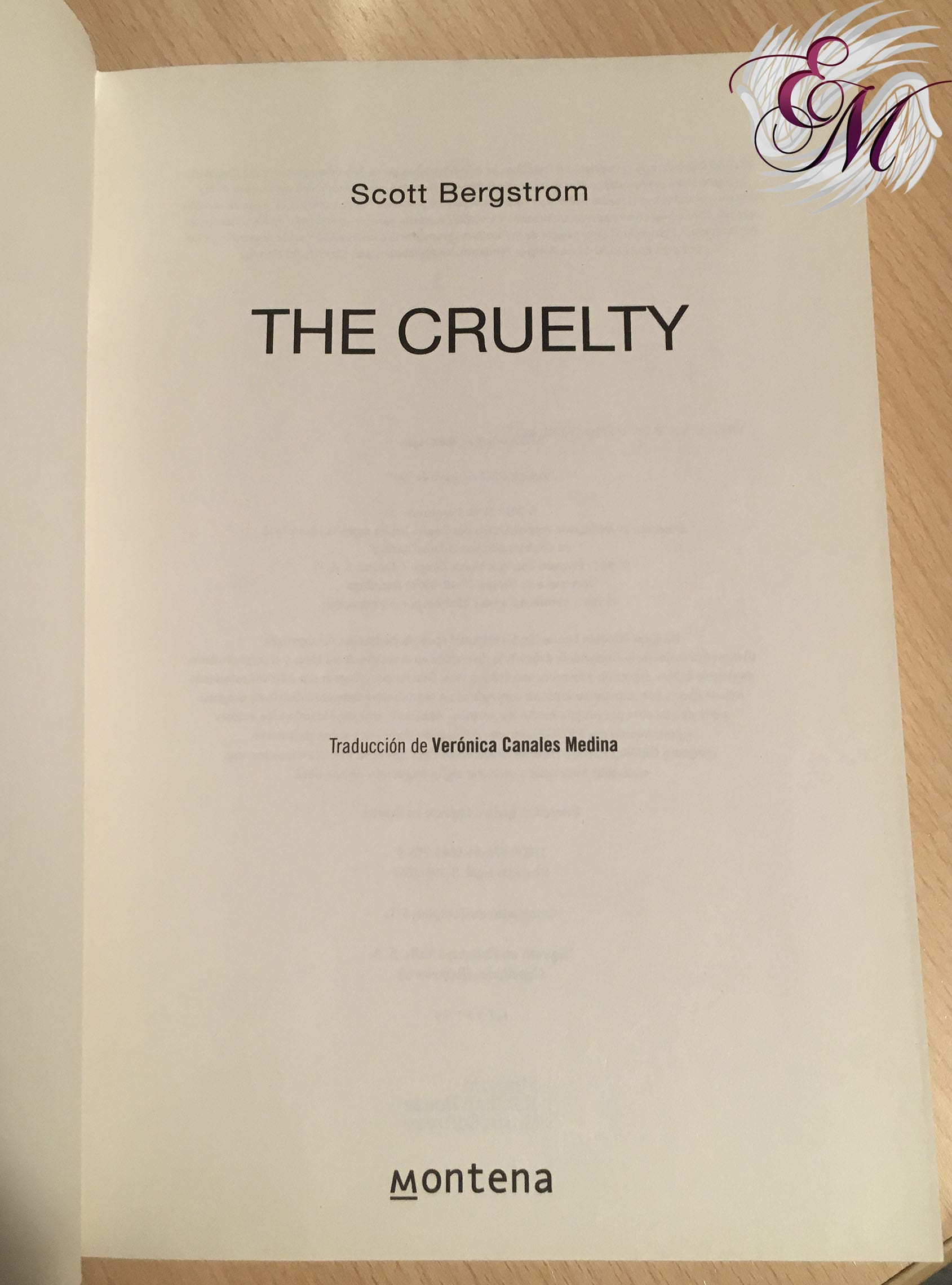 The Cruelty, de Scott Bergstrom - Reseña