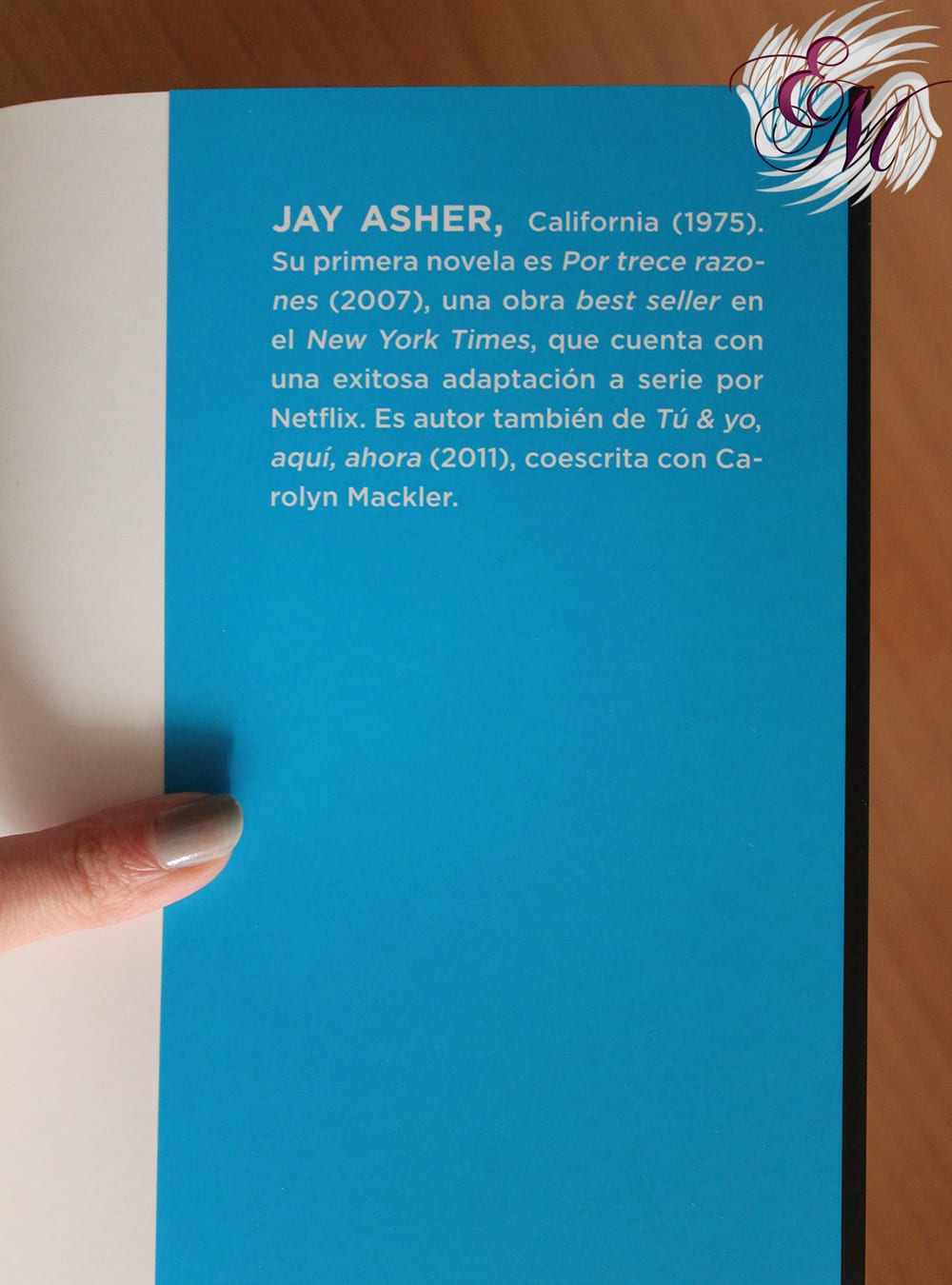 Dos vidas, de Jay Asher - Reseña