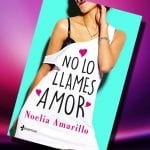 No lo llames amor, de Noelia Amarillo – Reseña