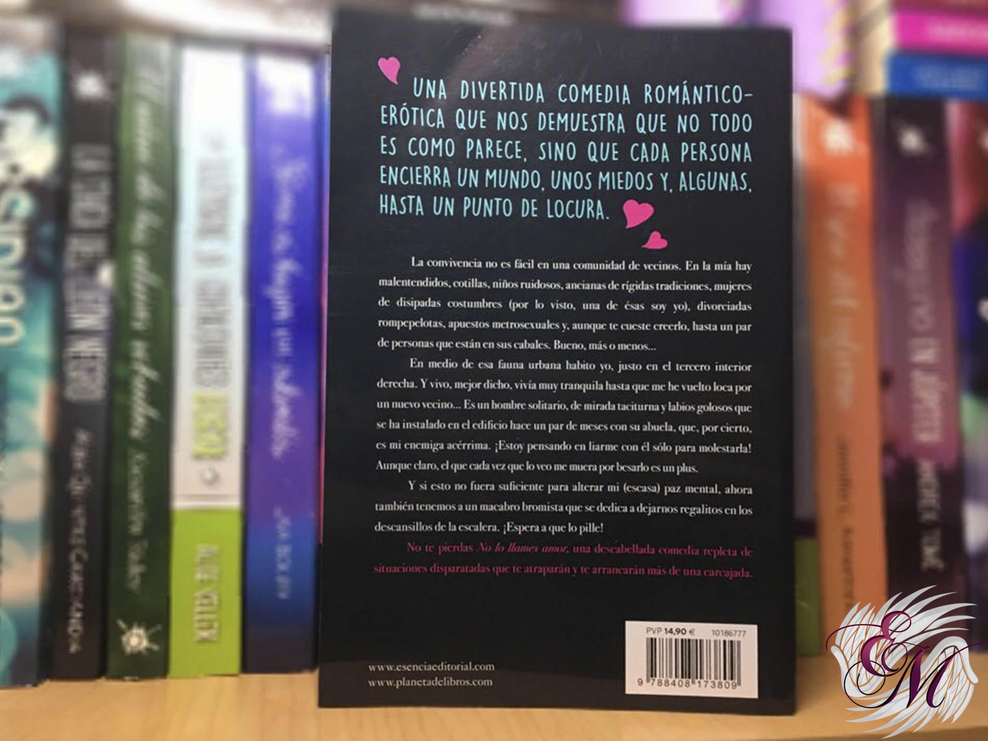 No lo llames amor, de Noelia Amarillo - Reseña