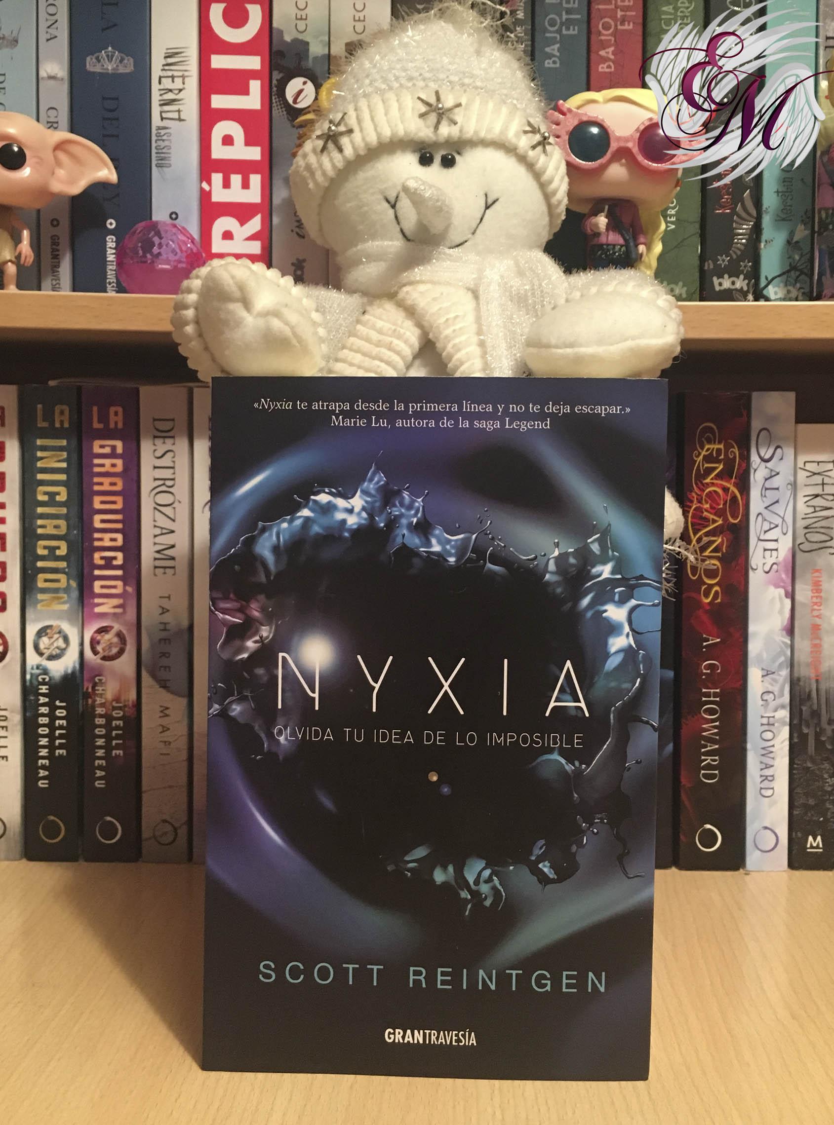 Nyxia, de Scott Reintgen - Reseña