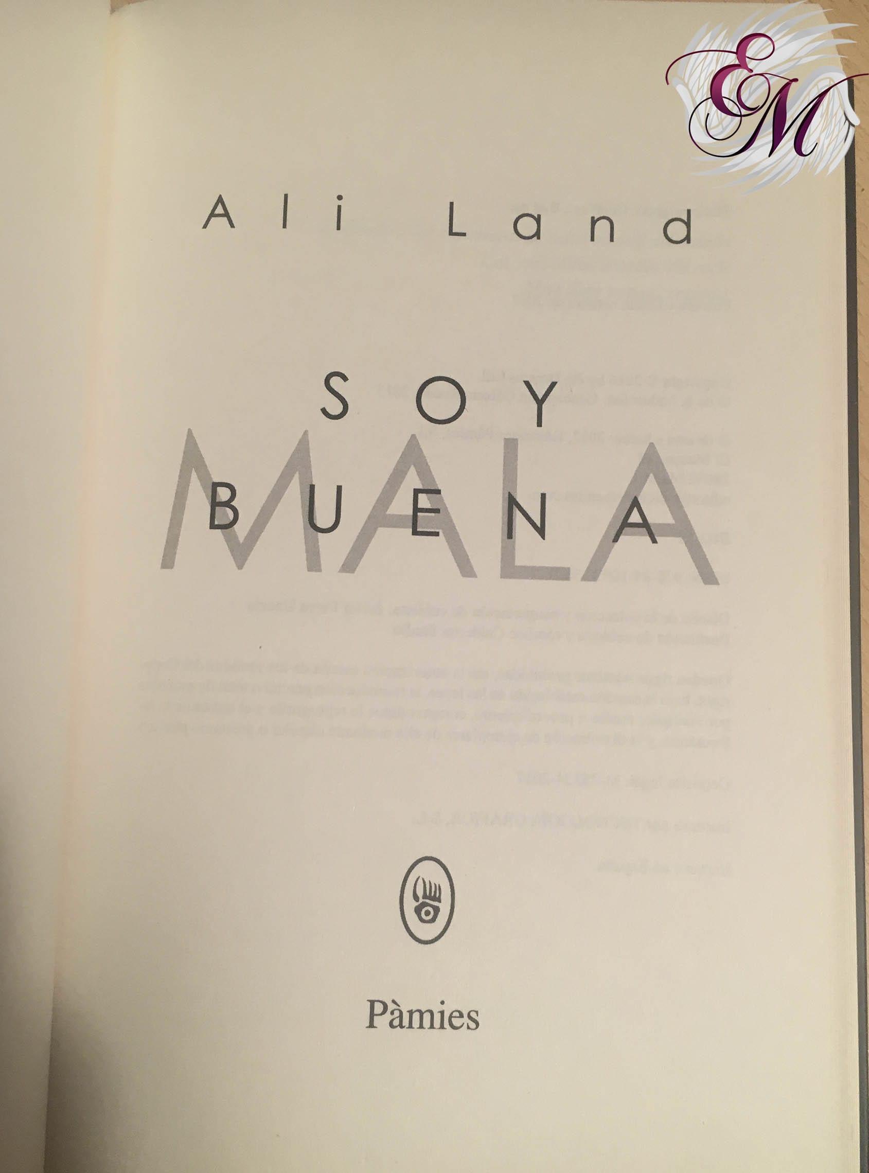 Soy buena, de Ali Land - Reseña