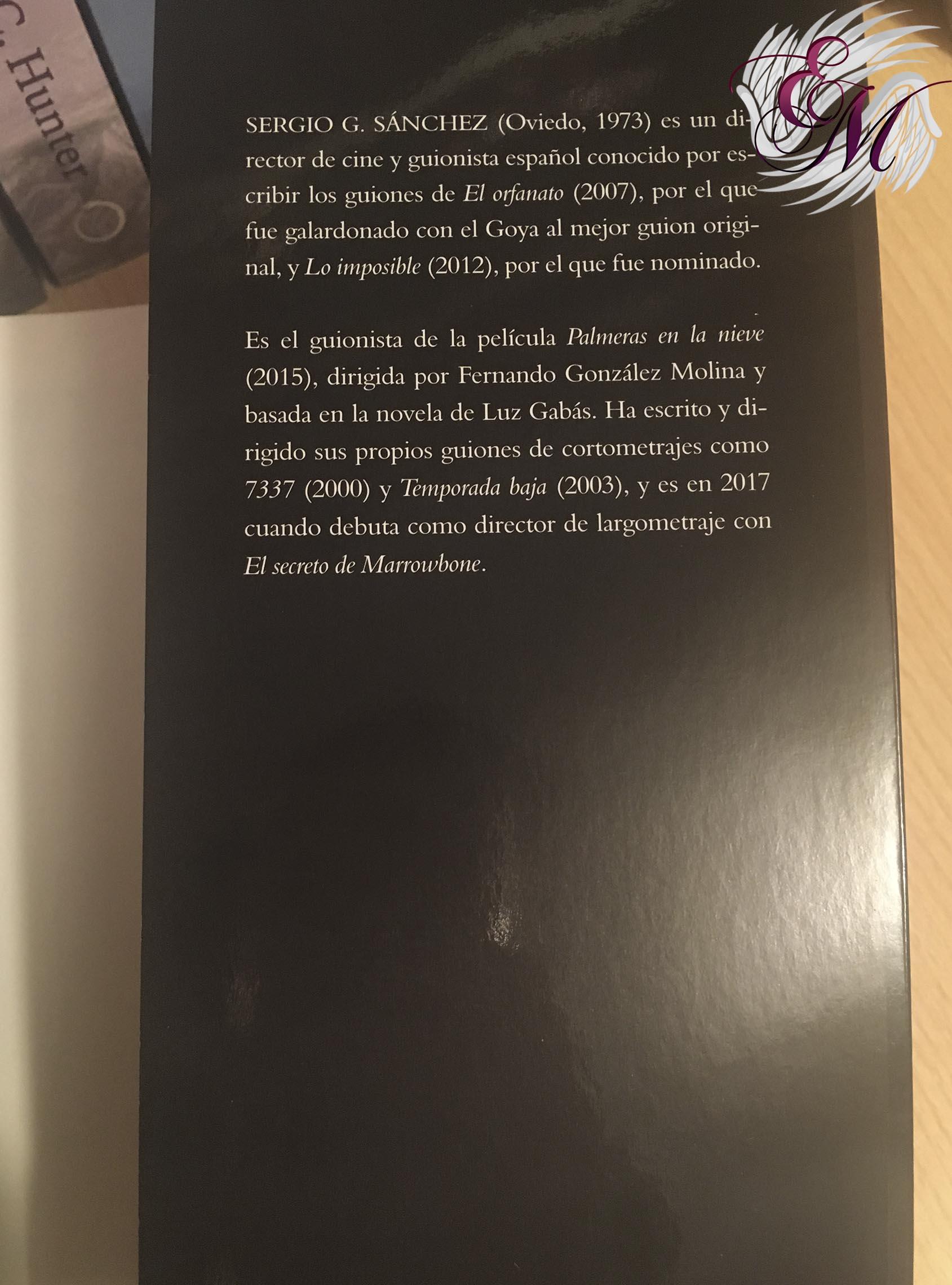 El secreto de Marrowbone, de Sergio G. Sánchez - Reseña