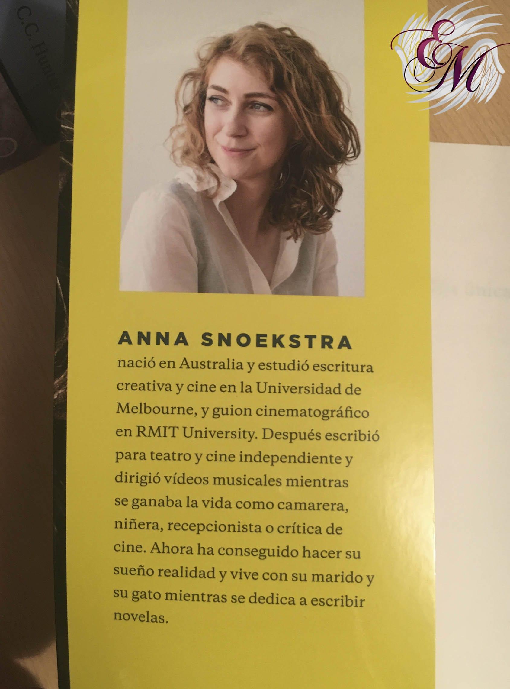 Hija única, de Anna Snoekstra - Reseña