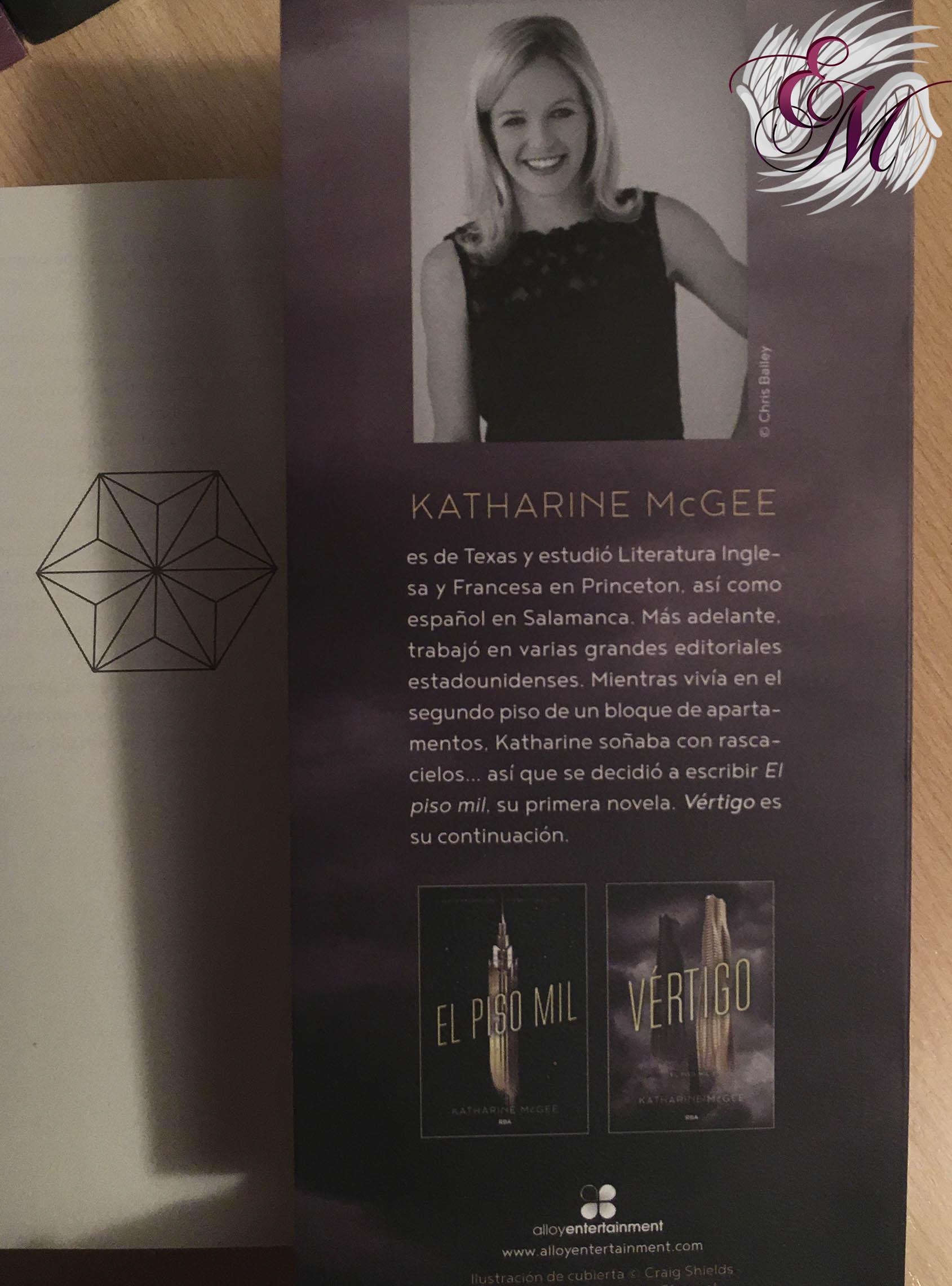 Vértigo, de Katharine McGee - Reseña