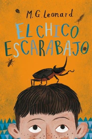 El chico escarabajo, de M.G. Leonard - Reseña