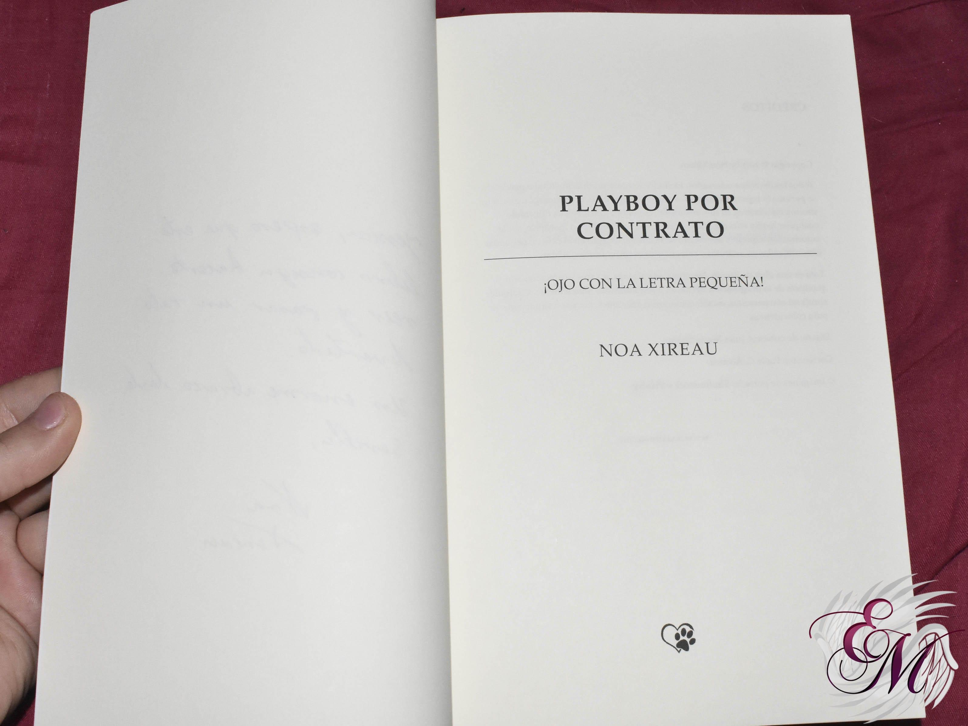 Playboy x contrato, de Noa Xireau - Reseña