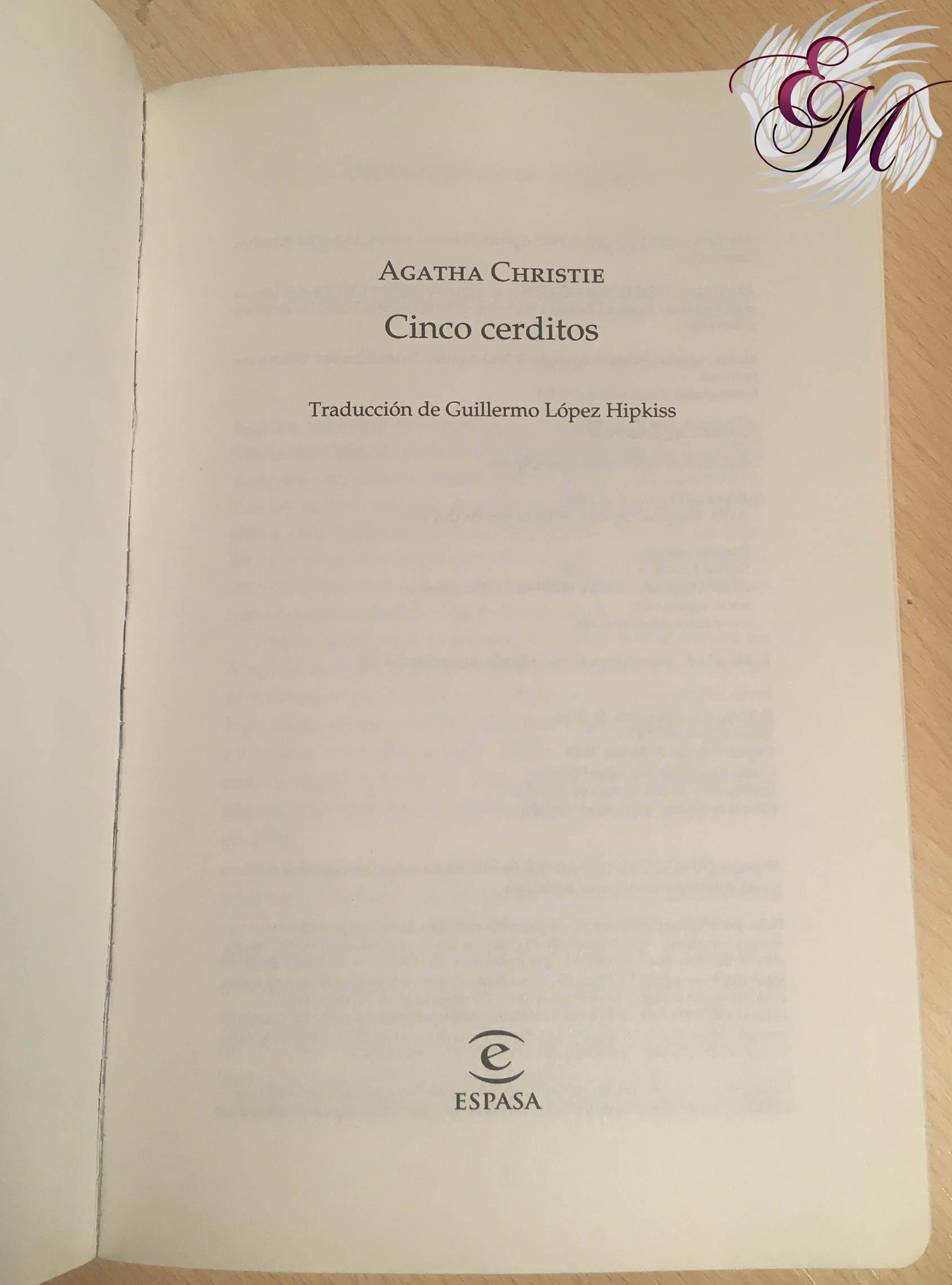 Cinco cerditos, Agatha Christie - Reseña