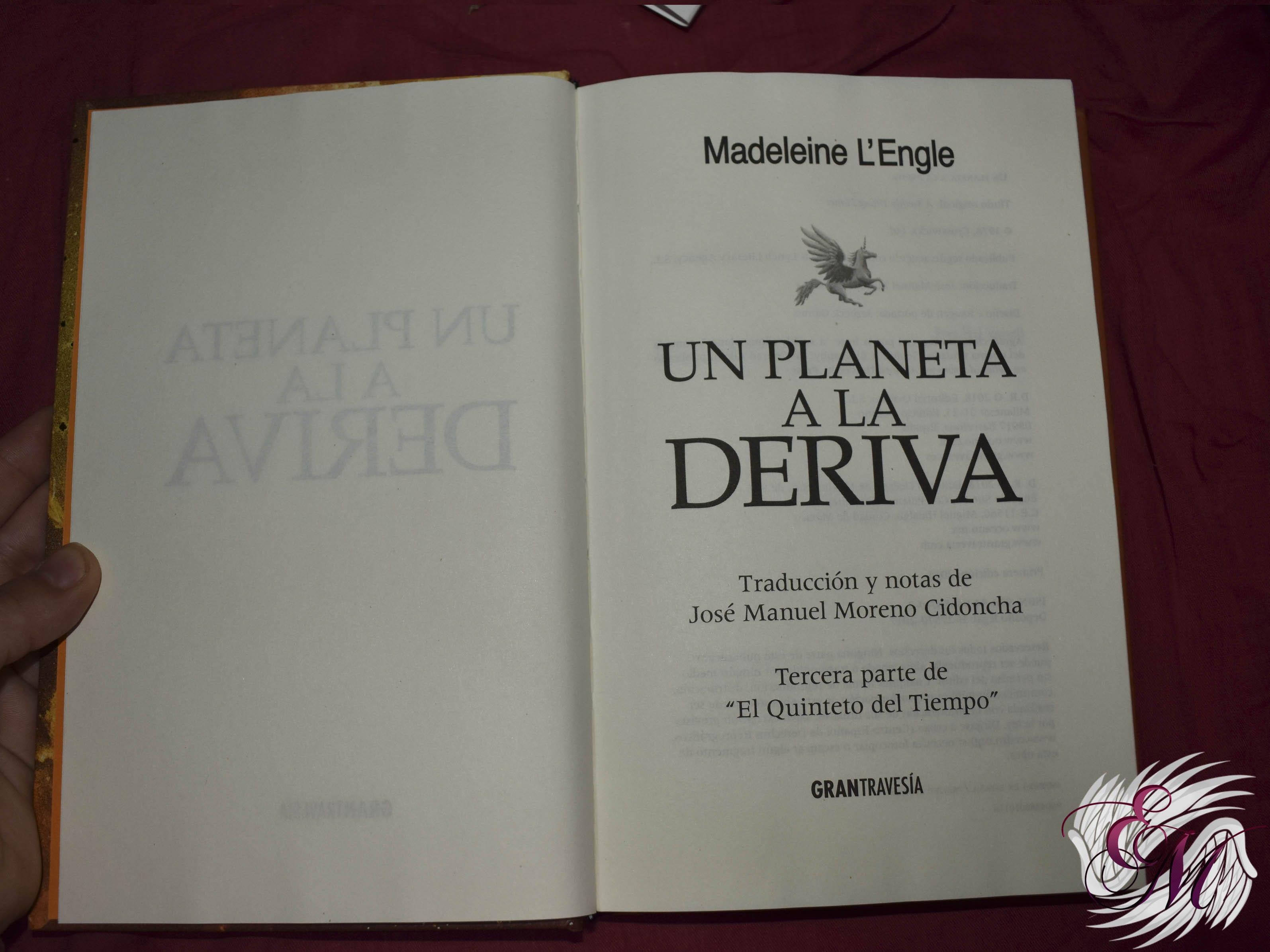 Un planeta a la deriva, de Madeleine L'Engle - Reseña