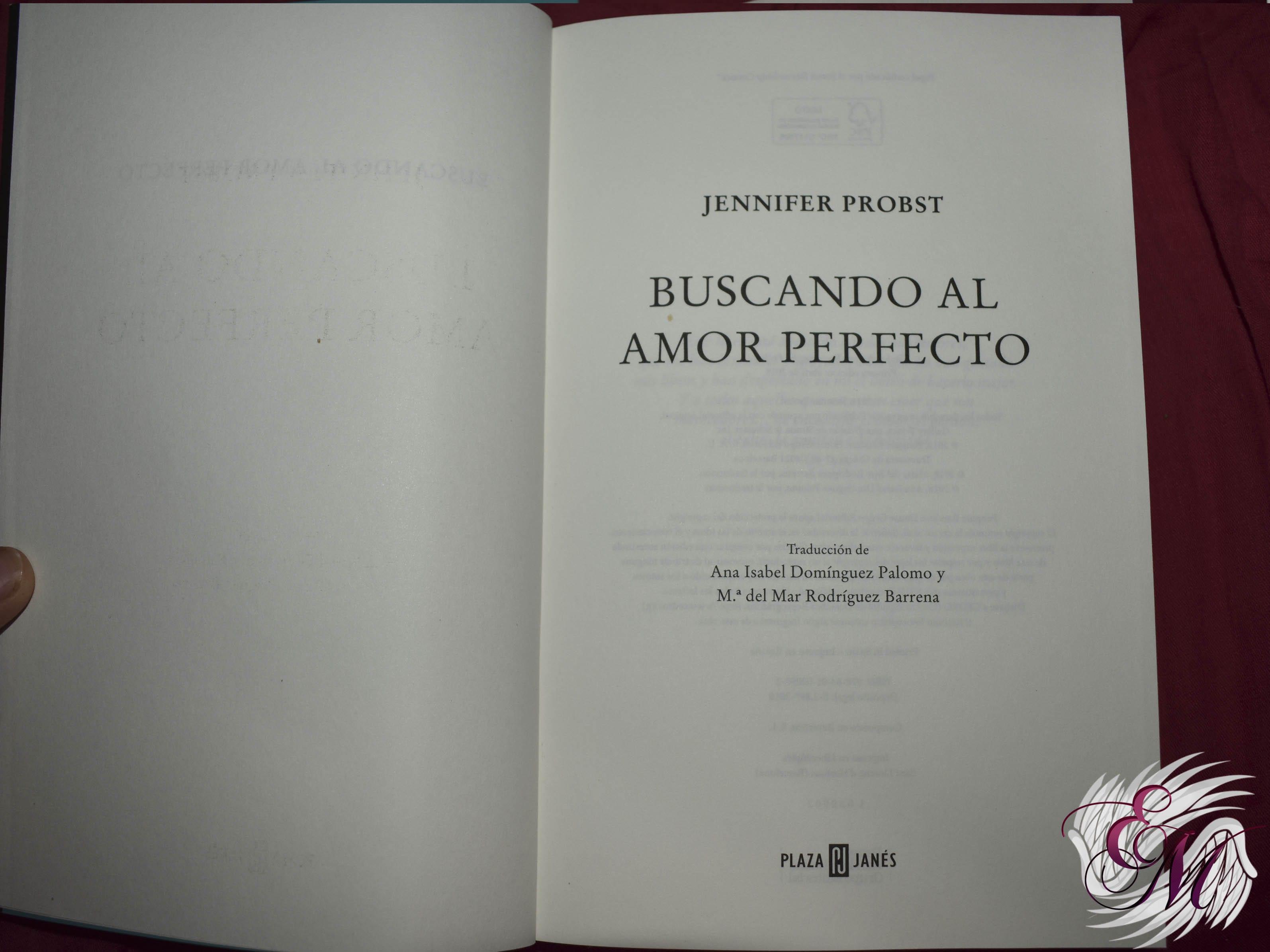 Buscando al amor perfecto, de Jennifer Probst - Reseña